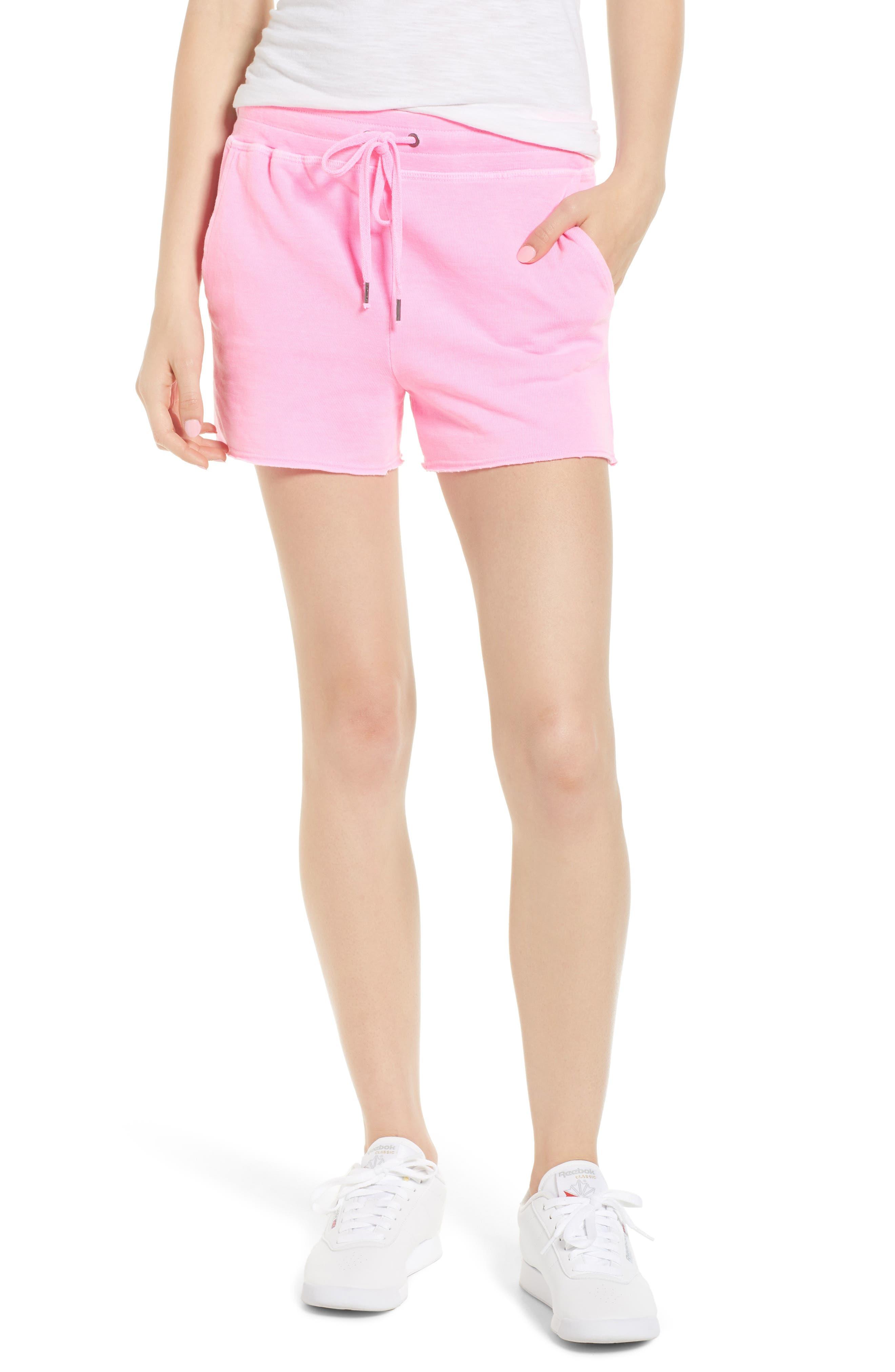 Active Shorts,                         Main,                         color, Neon Pink