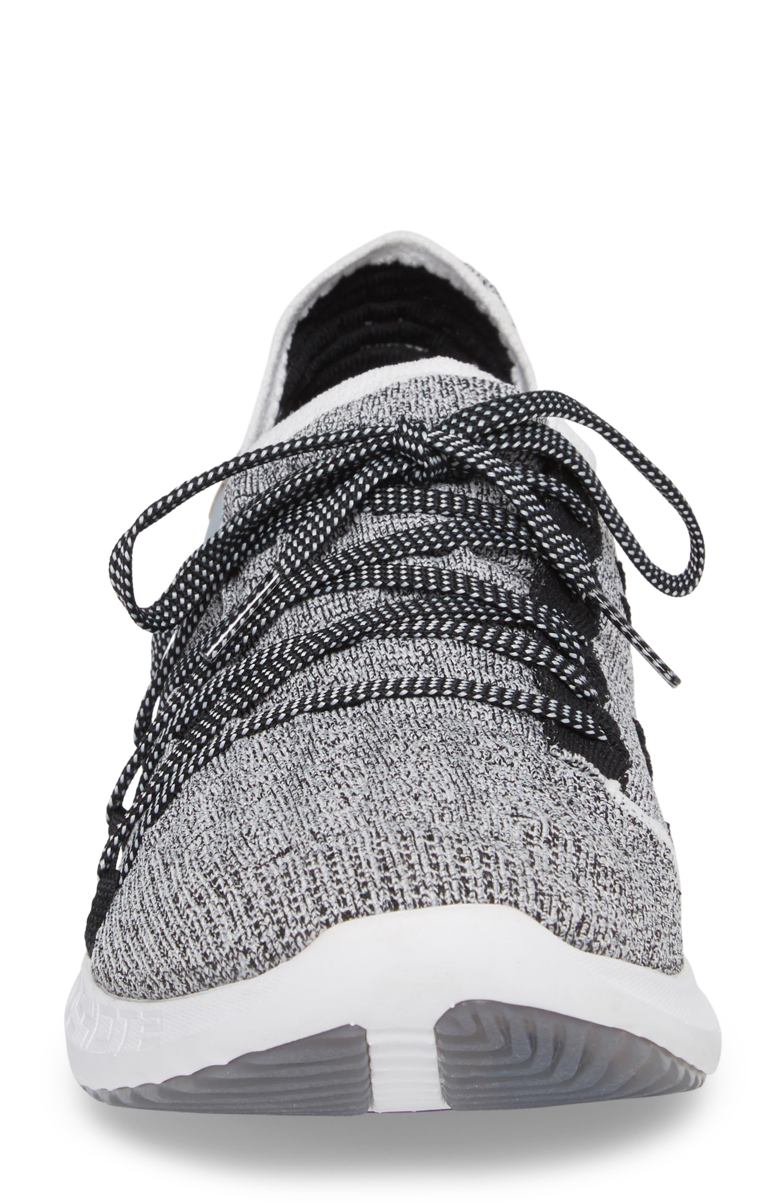 Speedform<sup>®</sup> Slingshot 2 Sneaker,                             Alternate thumbnail 4, color,                             White / Black / Metallic Gold