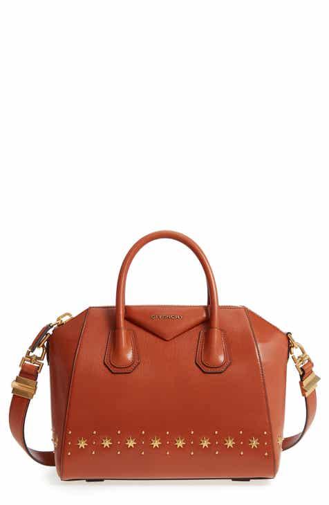 Givenchy Small Antigona Star Embellished Leather Satchel