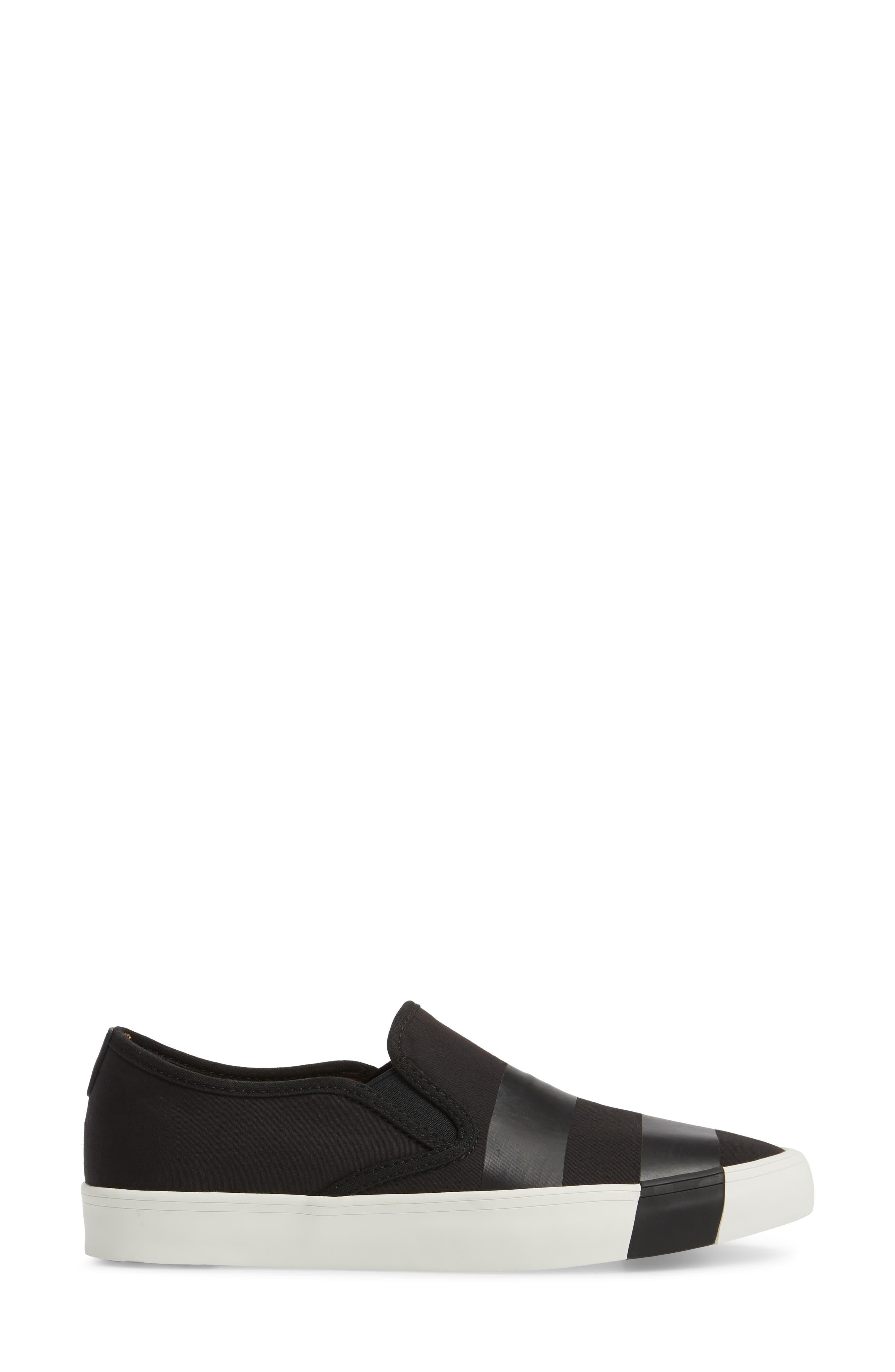 The Hammonds Slip-On Sneaker,                             Alternate thumbnail 3, color,                             Black On Black