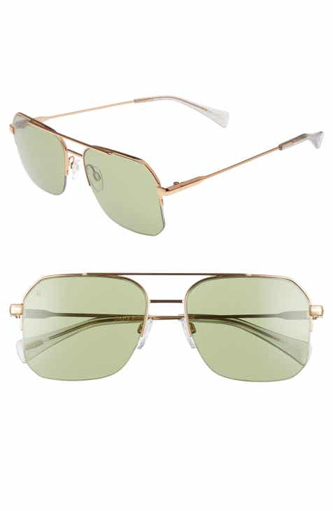 5f8e9d3950 RAEN Munroe 55mm Square Aviator Sunglasses