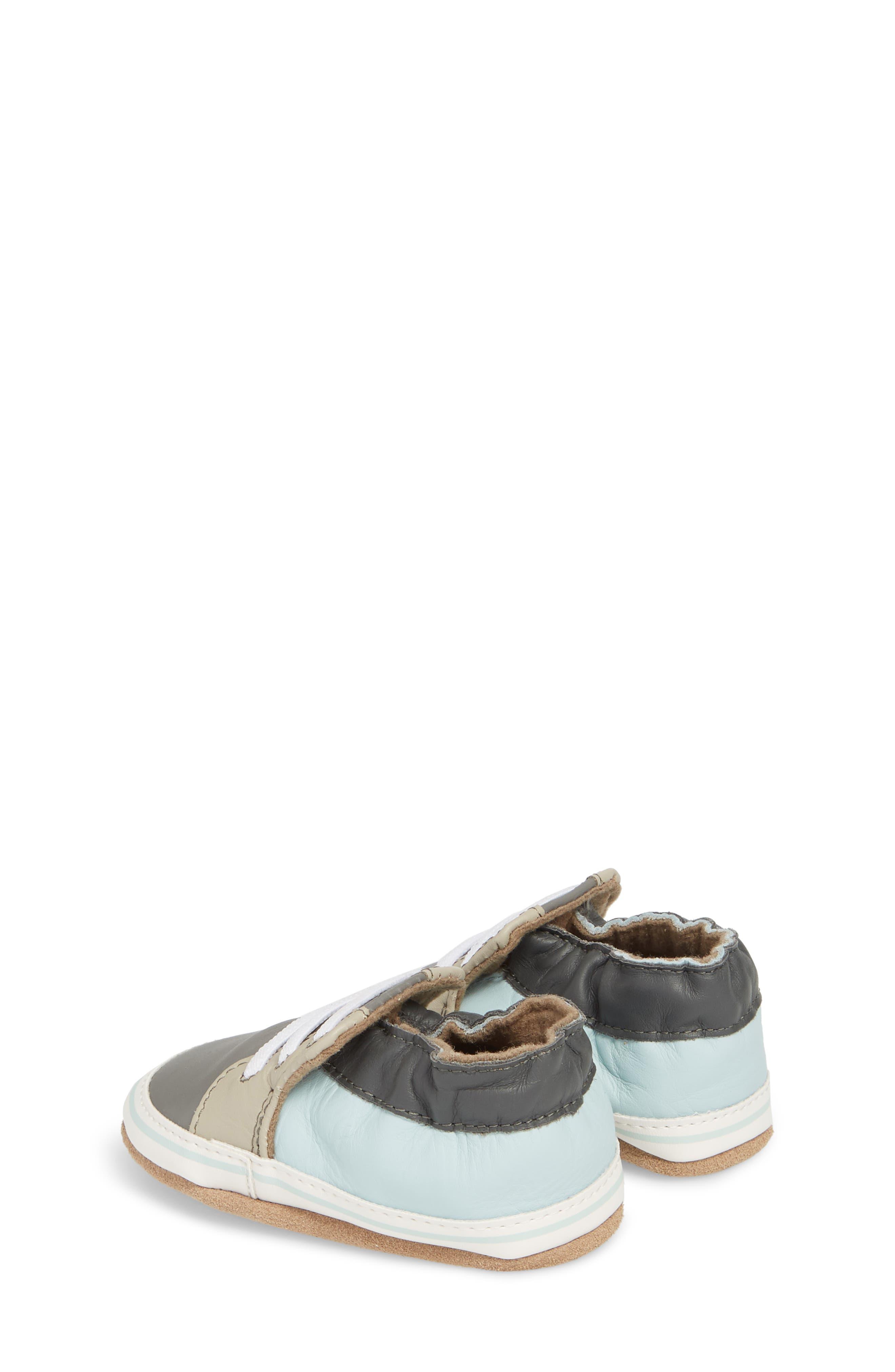 Trendy Chris Crib Sneaker,                             Alternate thumbnail 2, color,                             Grey