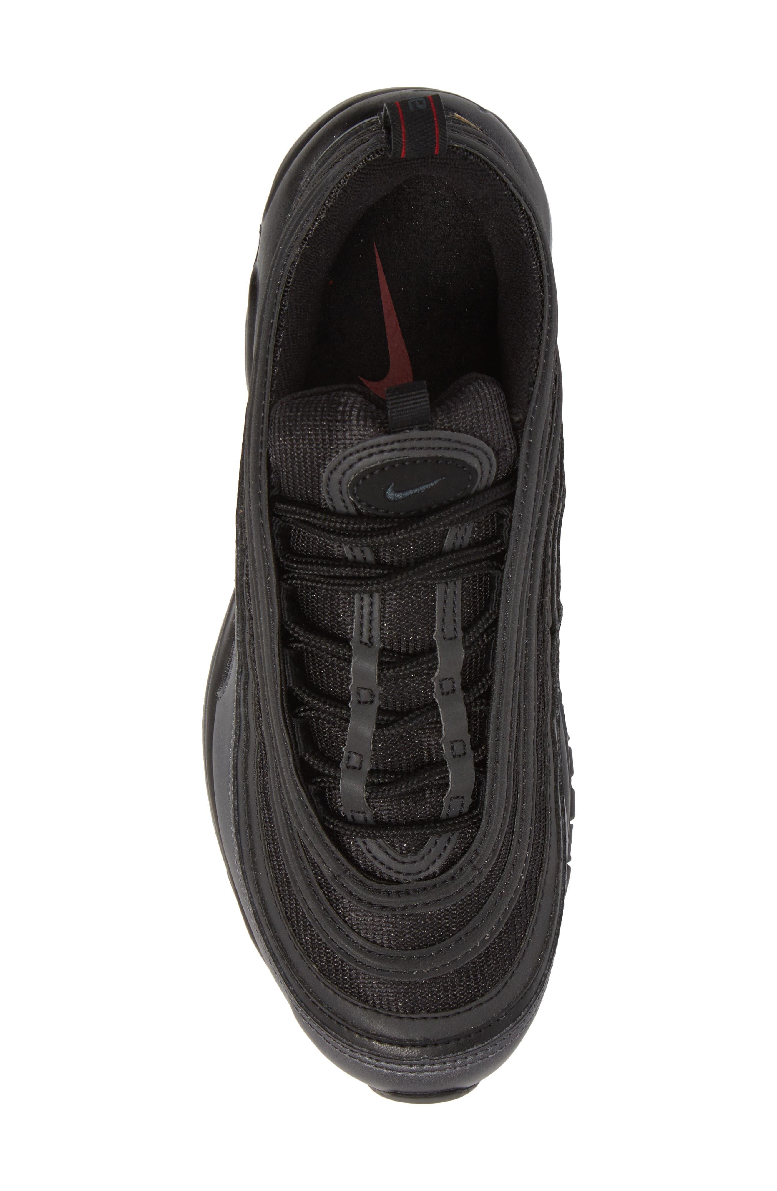 Air Max 97 Sneaker,                             Alternate thumbnail 5, color,                             Black/ Anthracite/ Hematite