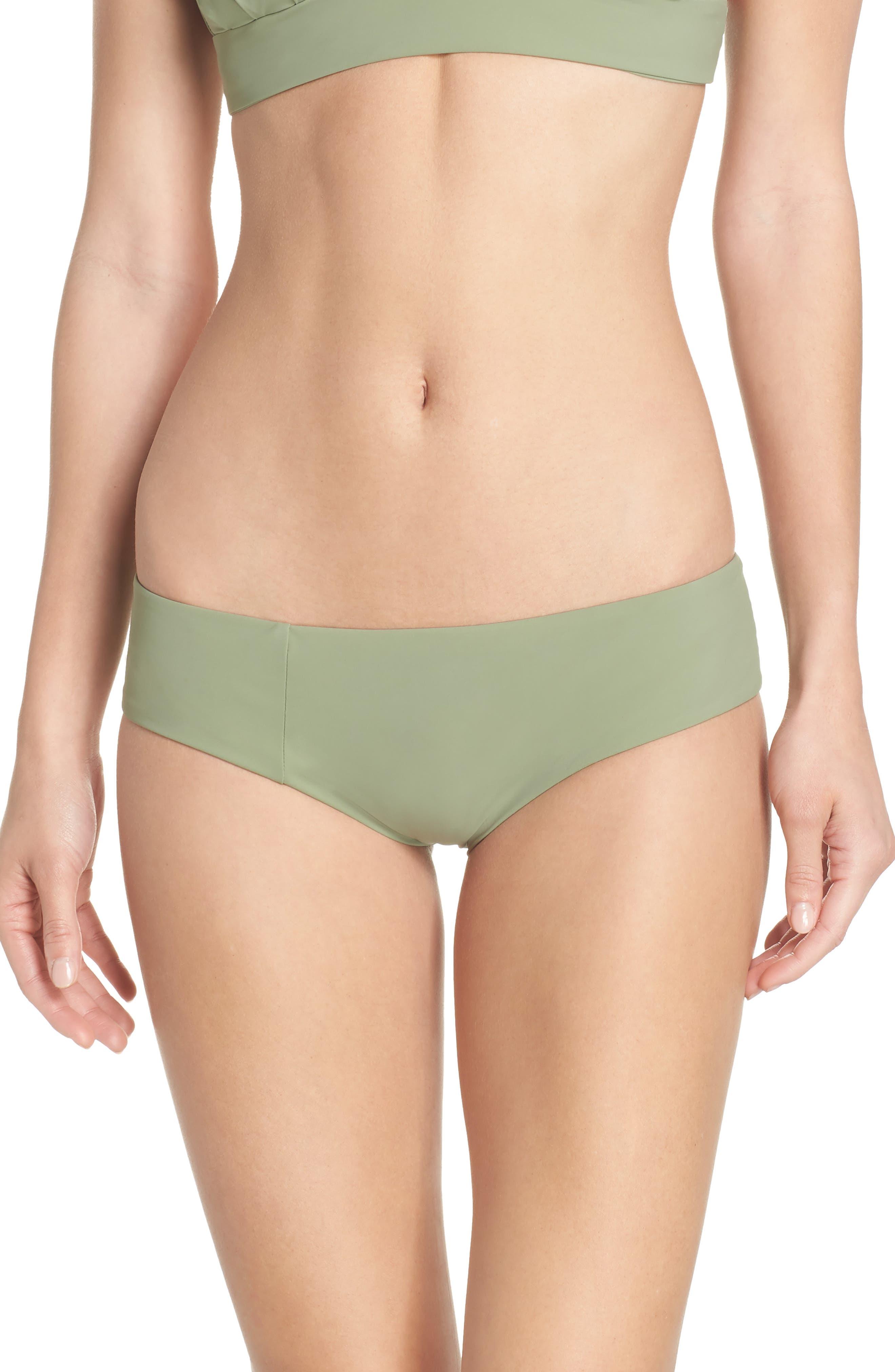 Wallace Bikini Bottoms,                         Main,                         color, Sage
