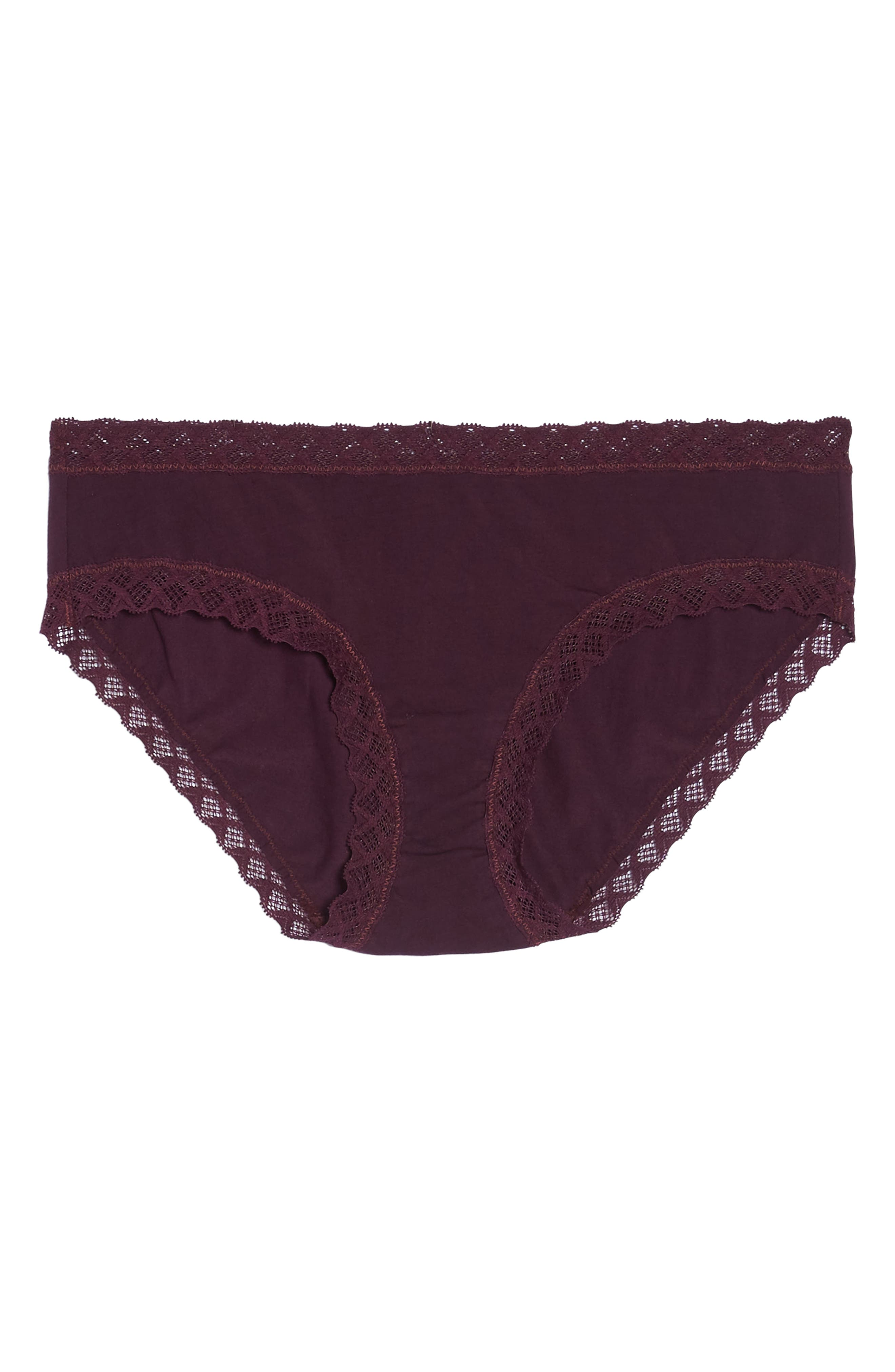 Bliss Cotton Girl Briefs,                             Alternate thumbnail 6, color,                             Potent Purple