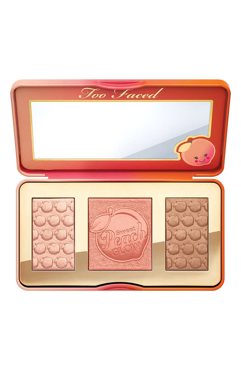 Too Faced Sweet Peach Glow Highlighting Palette | Nordstrom