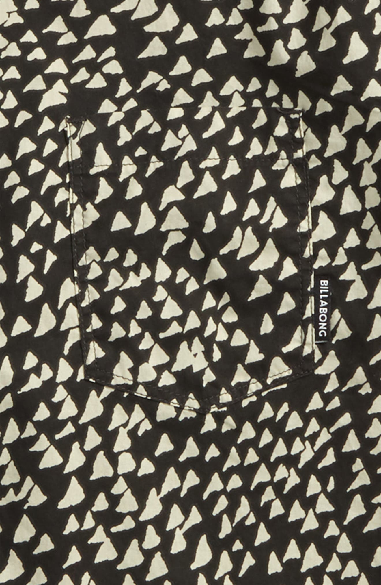 Sundays Woven Shirt,                             Alternate thumbnail 2, color,                             Char