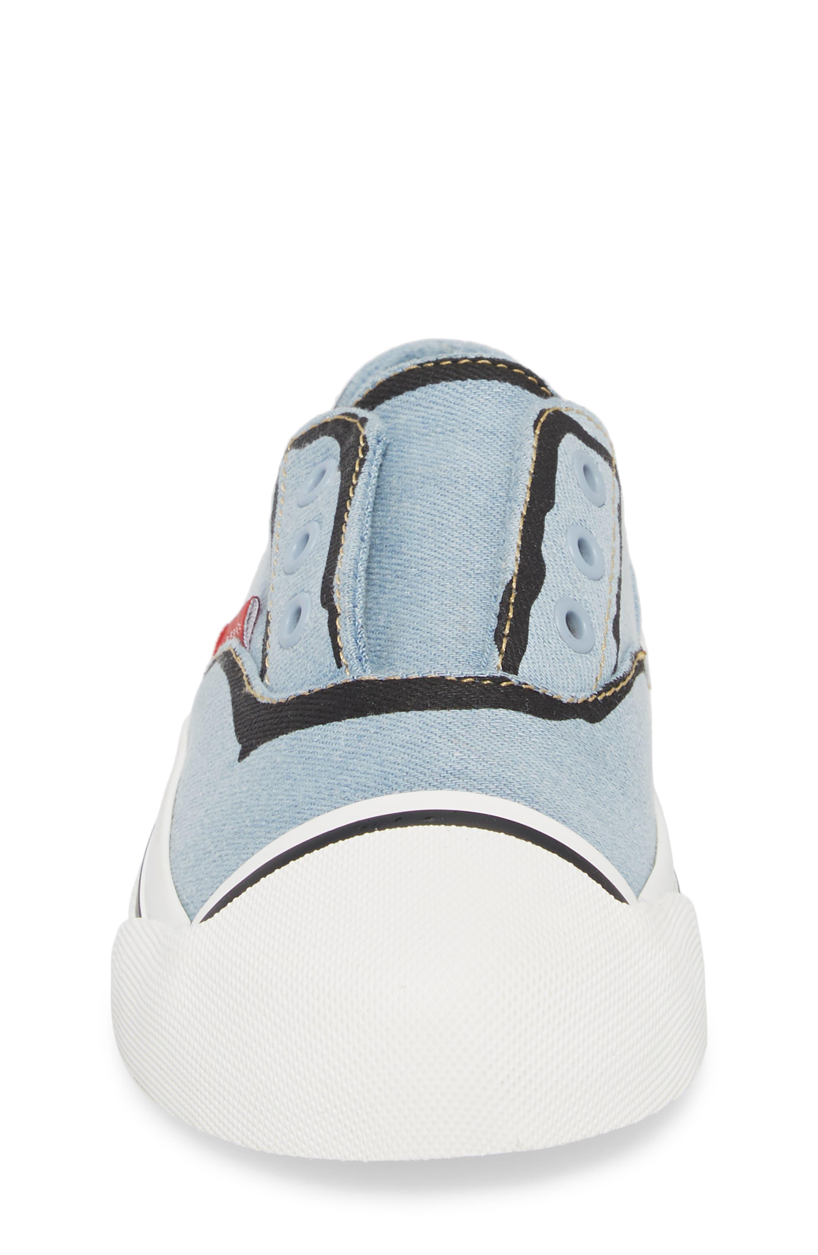 Alternate Image 4  - Burberry Lipton Slip-On Sneaker (Walker & Toddler)
