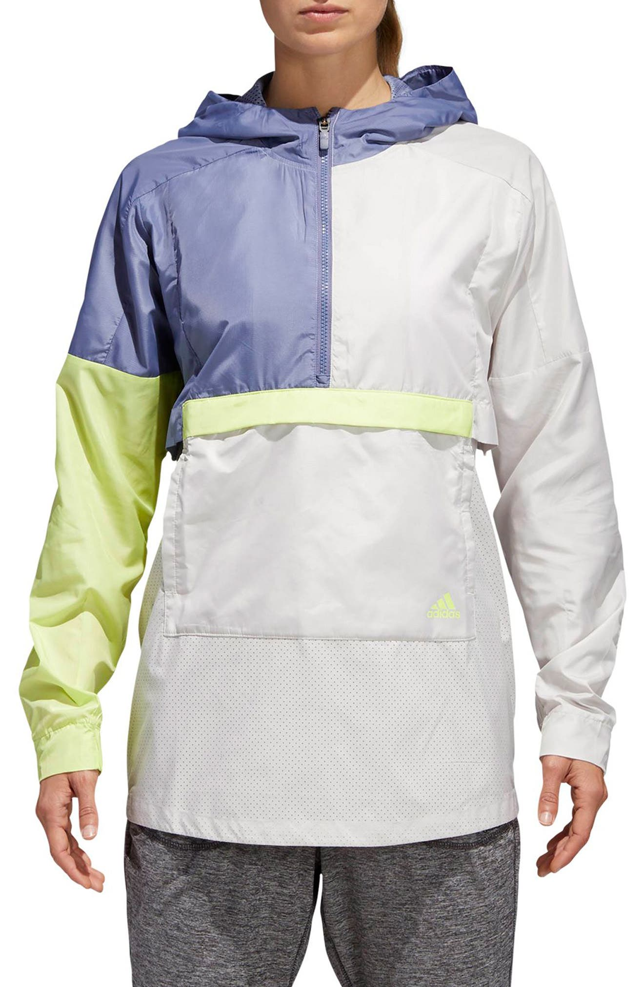 ID Shell Anorak,                         Main,                         color, Chalk Pearl