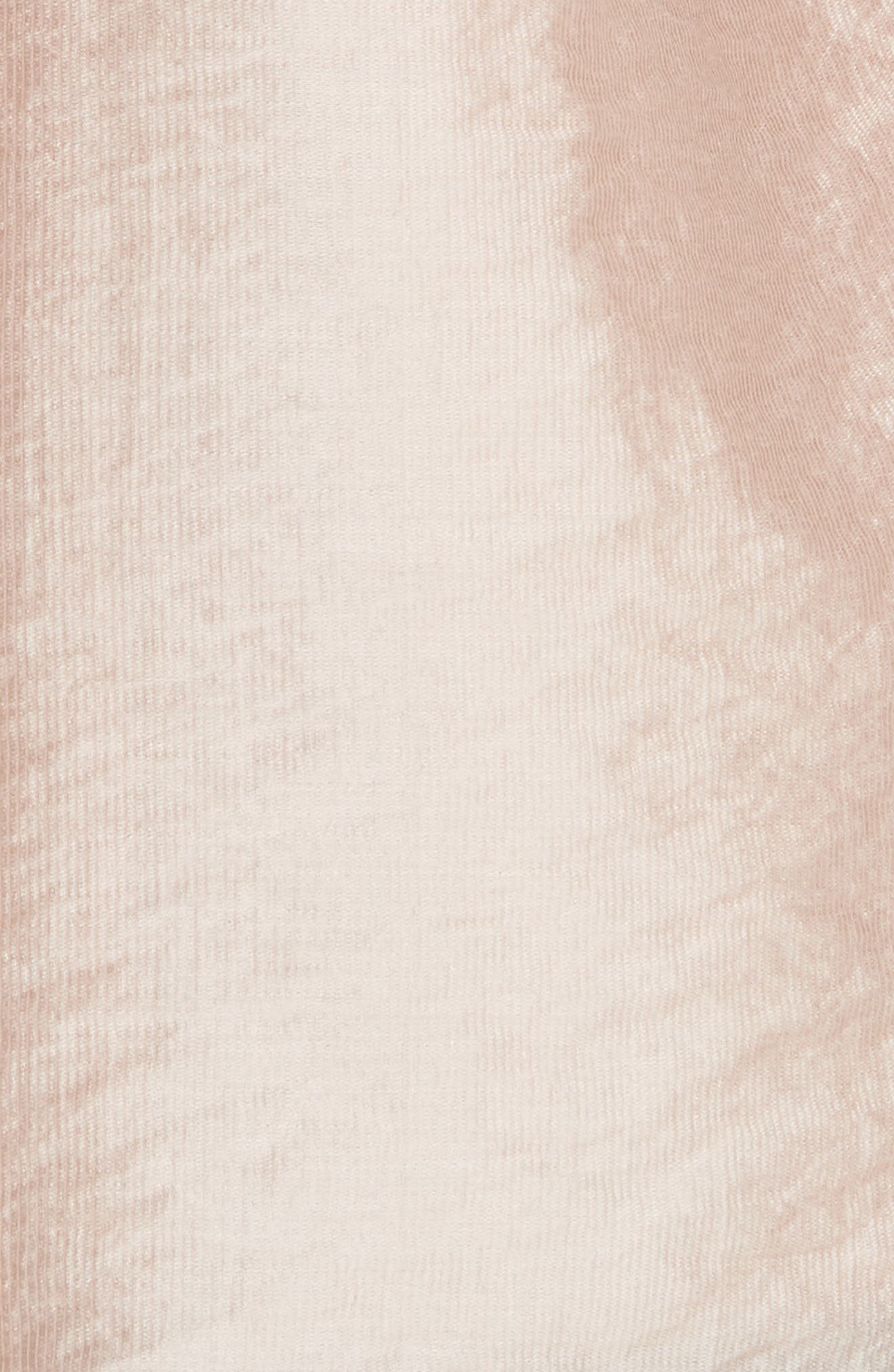 Earldena Top,                             Alternate thumbnail 6, color,                             Blush Sand