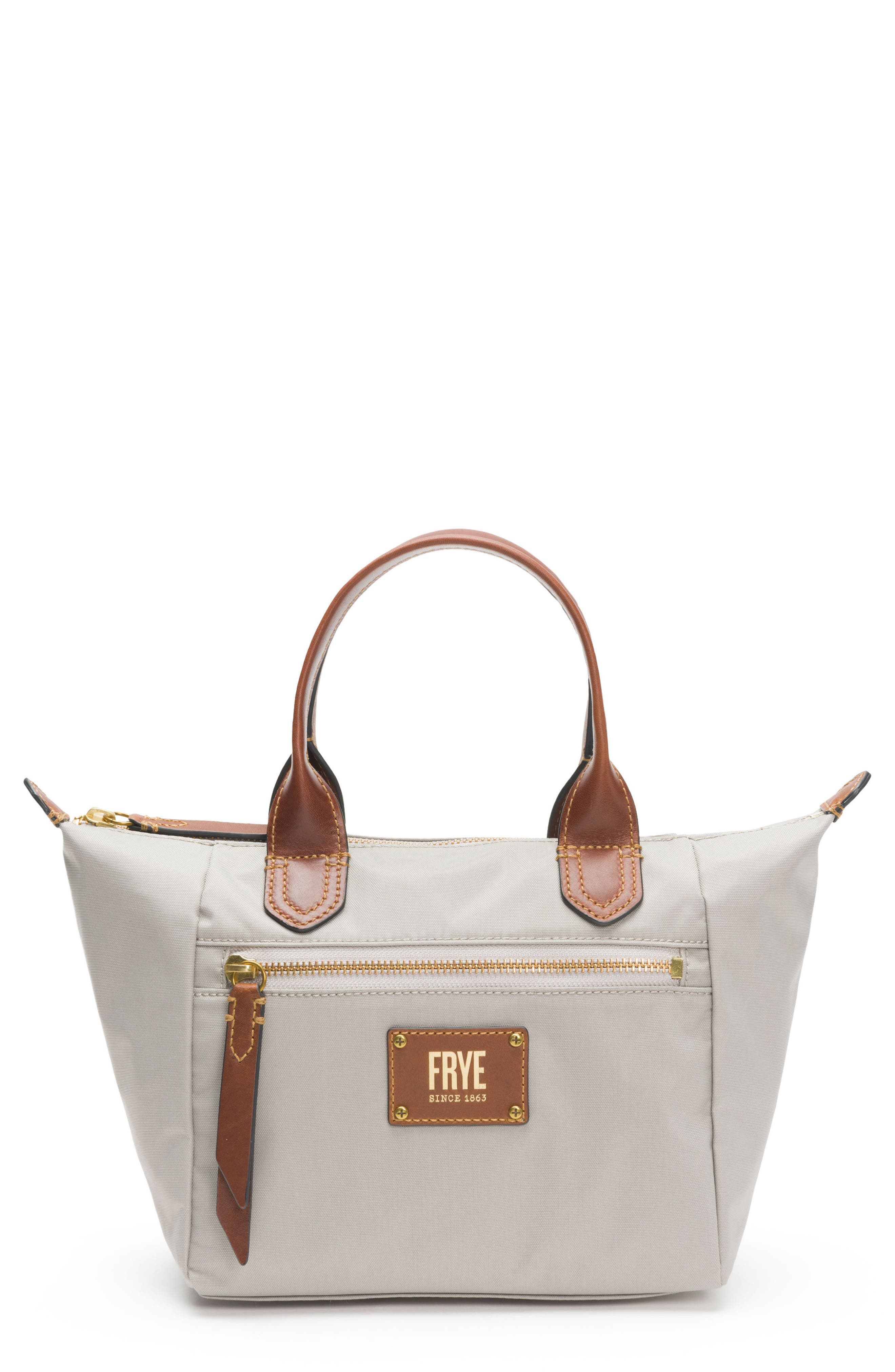 Small Ivy Nylon Tote,                         Main,                         color, Light Grey
