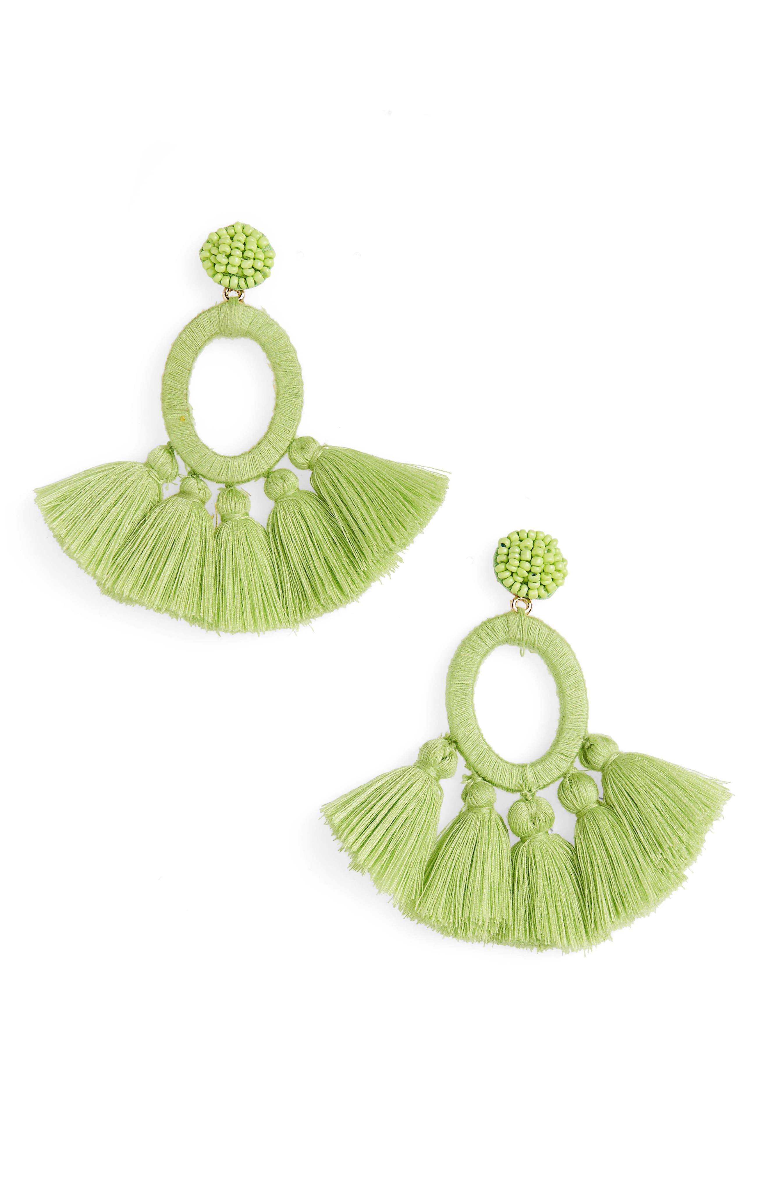 Alternate Image 1 Selected - BaubleBar Abacos Tassel Earrings