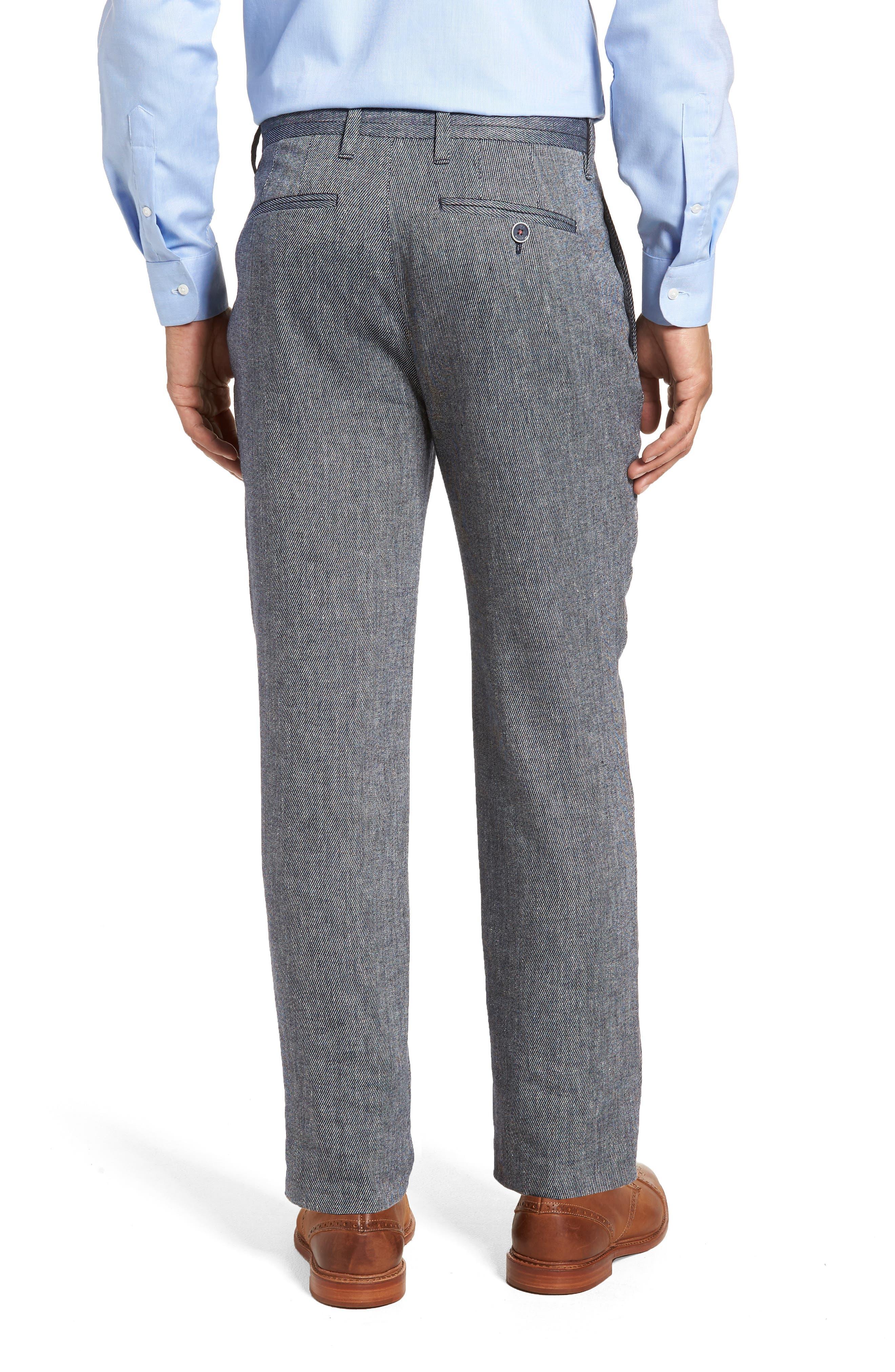 Clifrot Trim Fit Trousers,                             Alternate thumbnail 2, color,                             Blue