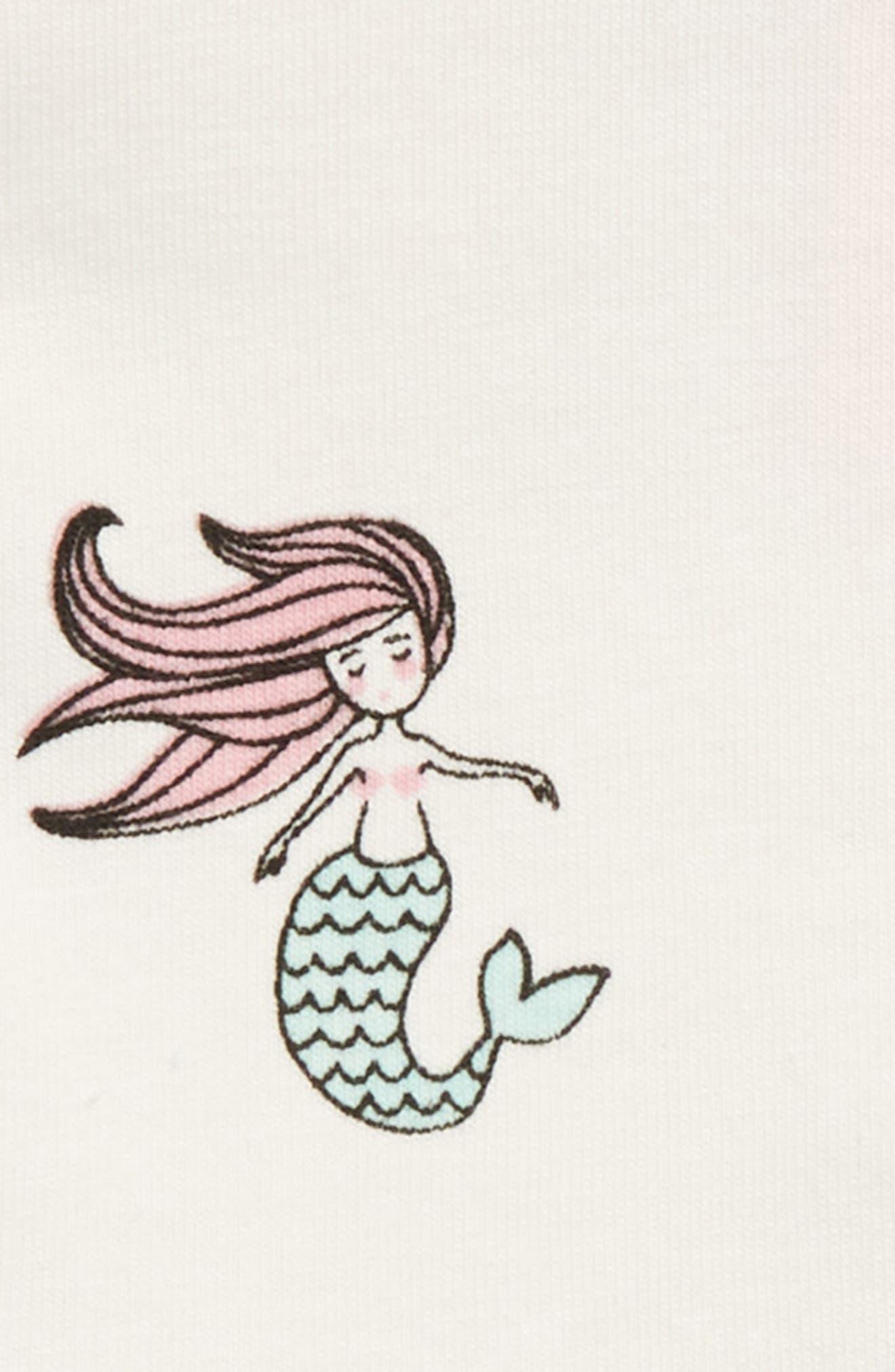 All Dressed Up - Mermaid Skirted Bodysuit,                             Alternate thumbnail 2, color,                             Ocean Tails