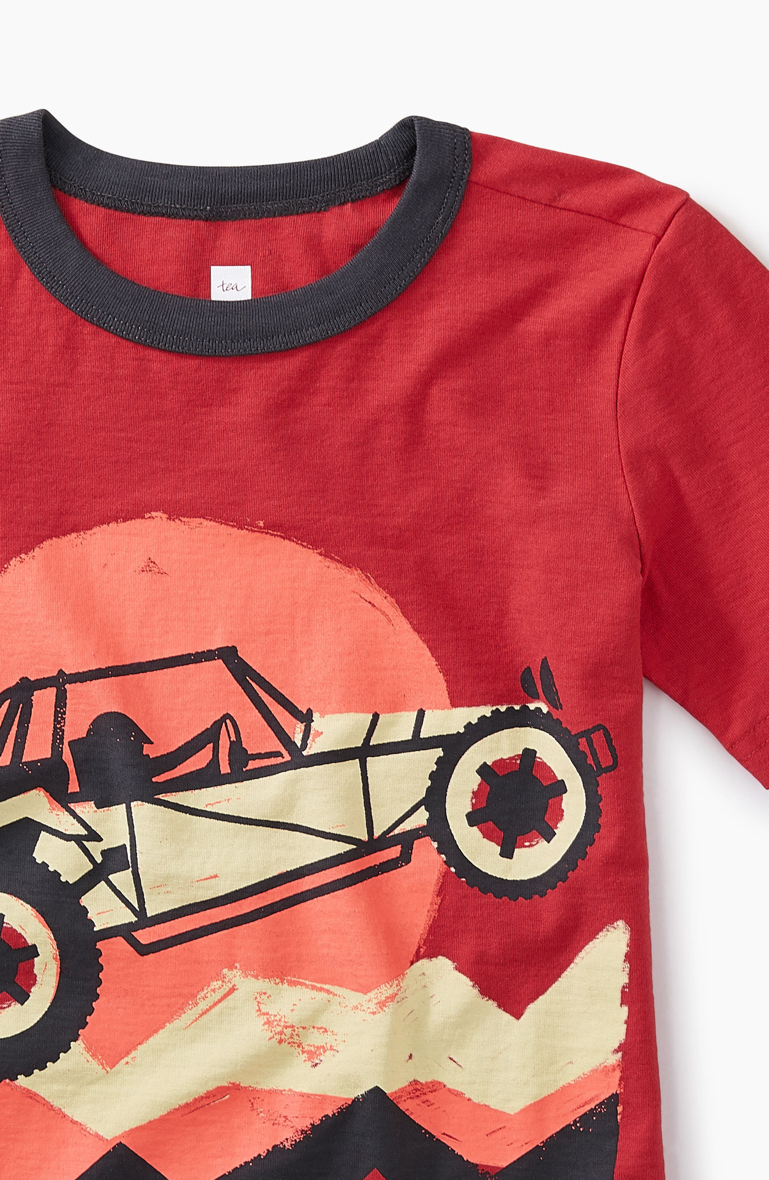 Dune Buggy Graphic T-Shirt,                             Alternate thumbnail 2, color,                             Cayenne