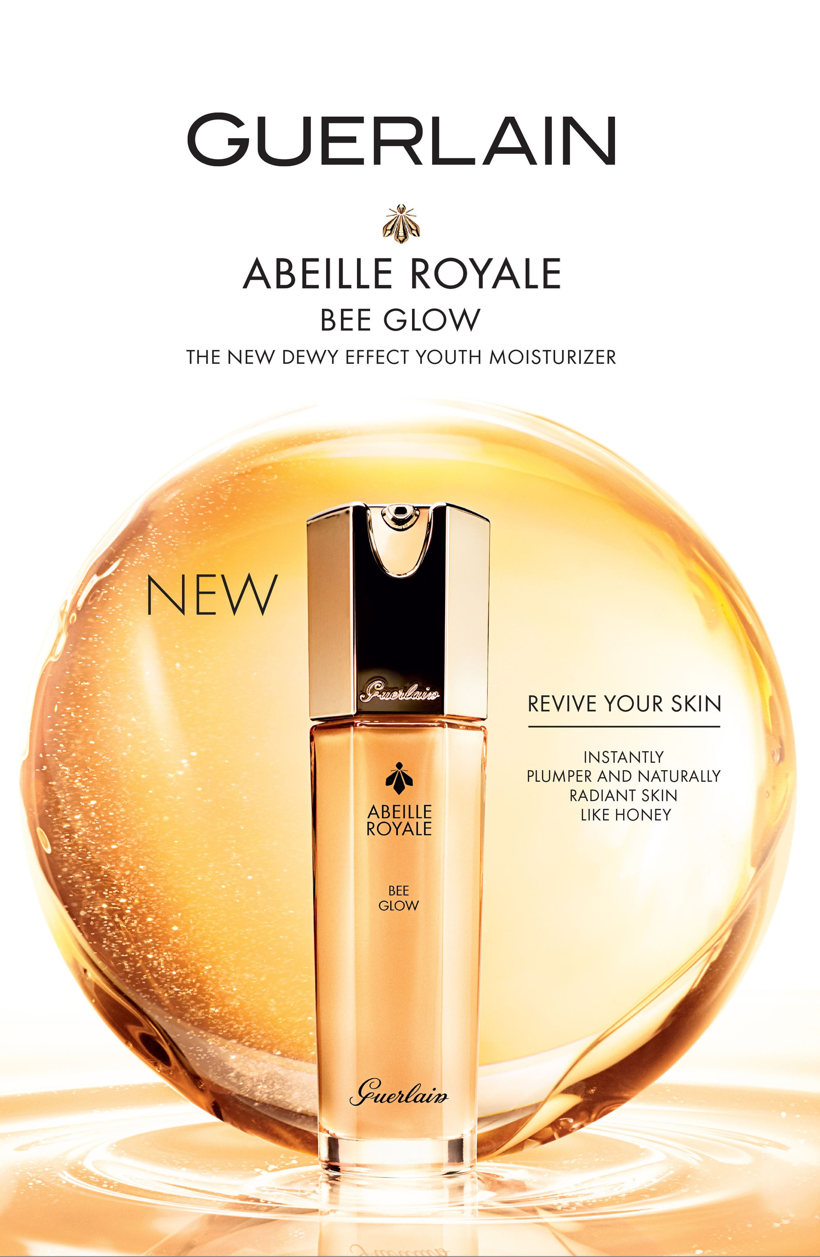 Abeille Royale Bee Glow Youth Moisturizer,                             Alternate thumbnail 2, color,                             No Color