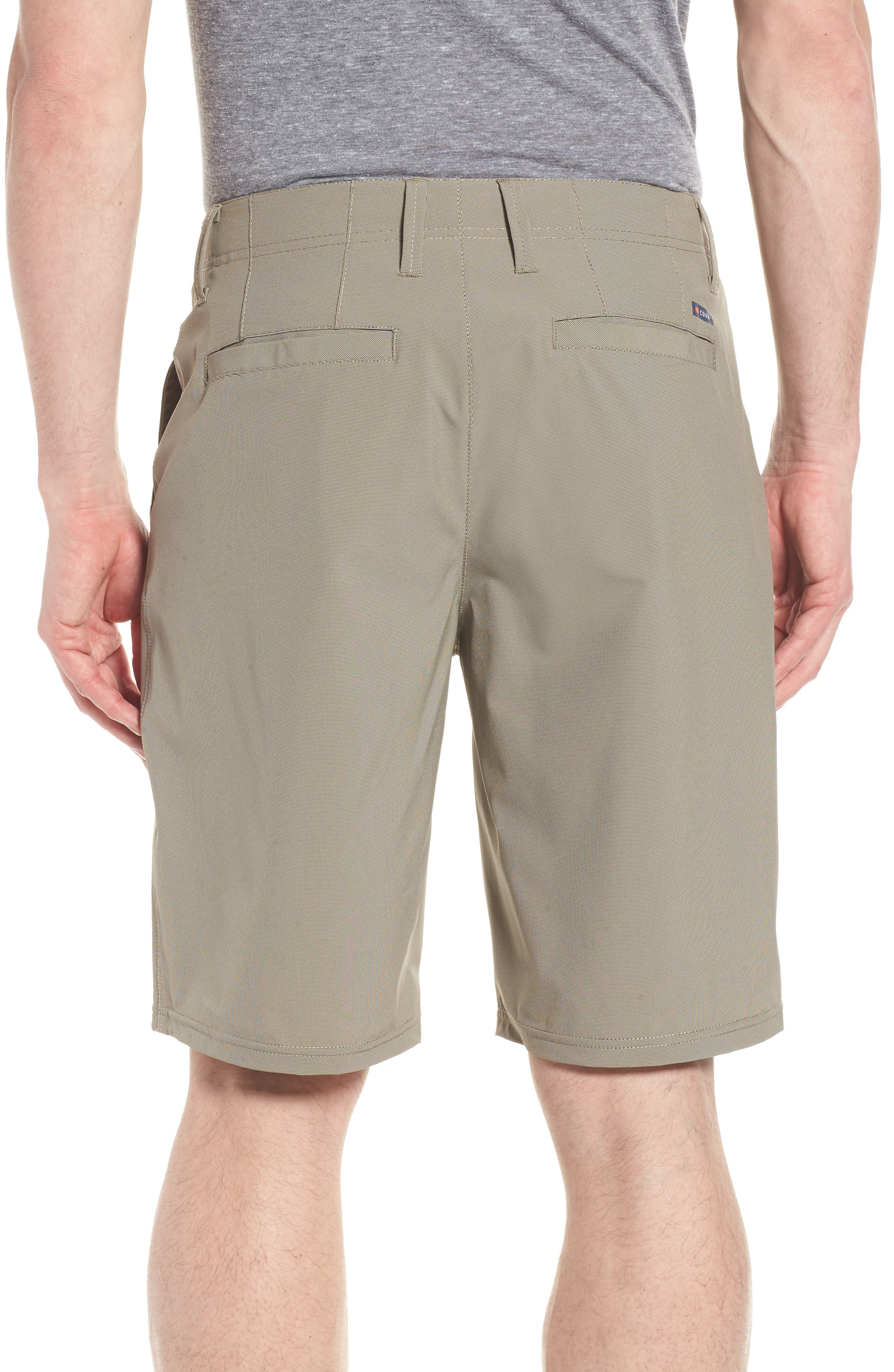 Seaside Hybrid Shorts,                             Alternate thumbnail 2, color,                             Espresso