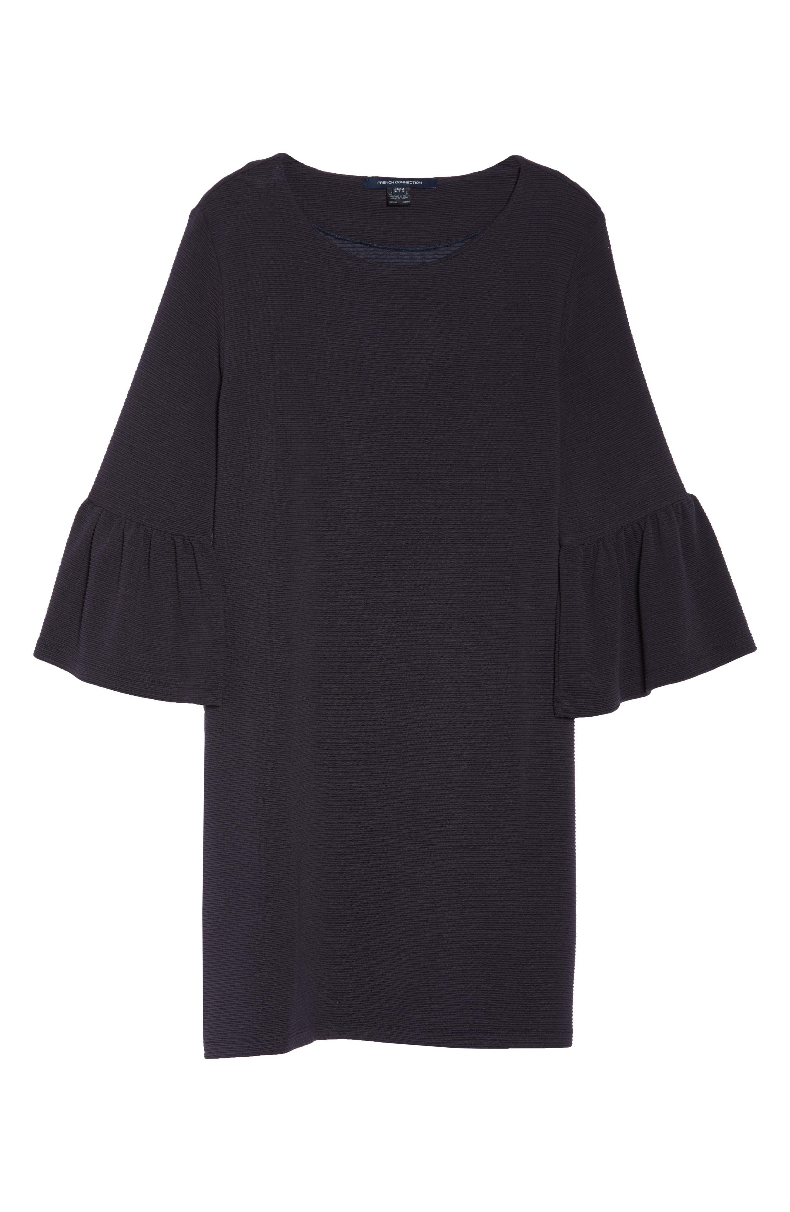 Paros Sudan Bell Sleeve Shift Dress,                             Alternate thumbnail 7, color,                             Utility Blue