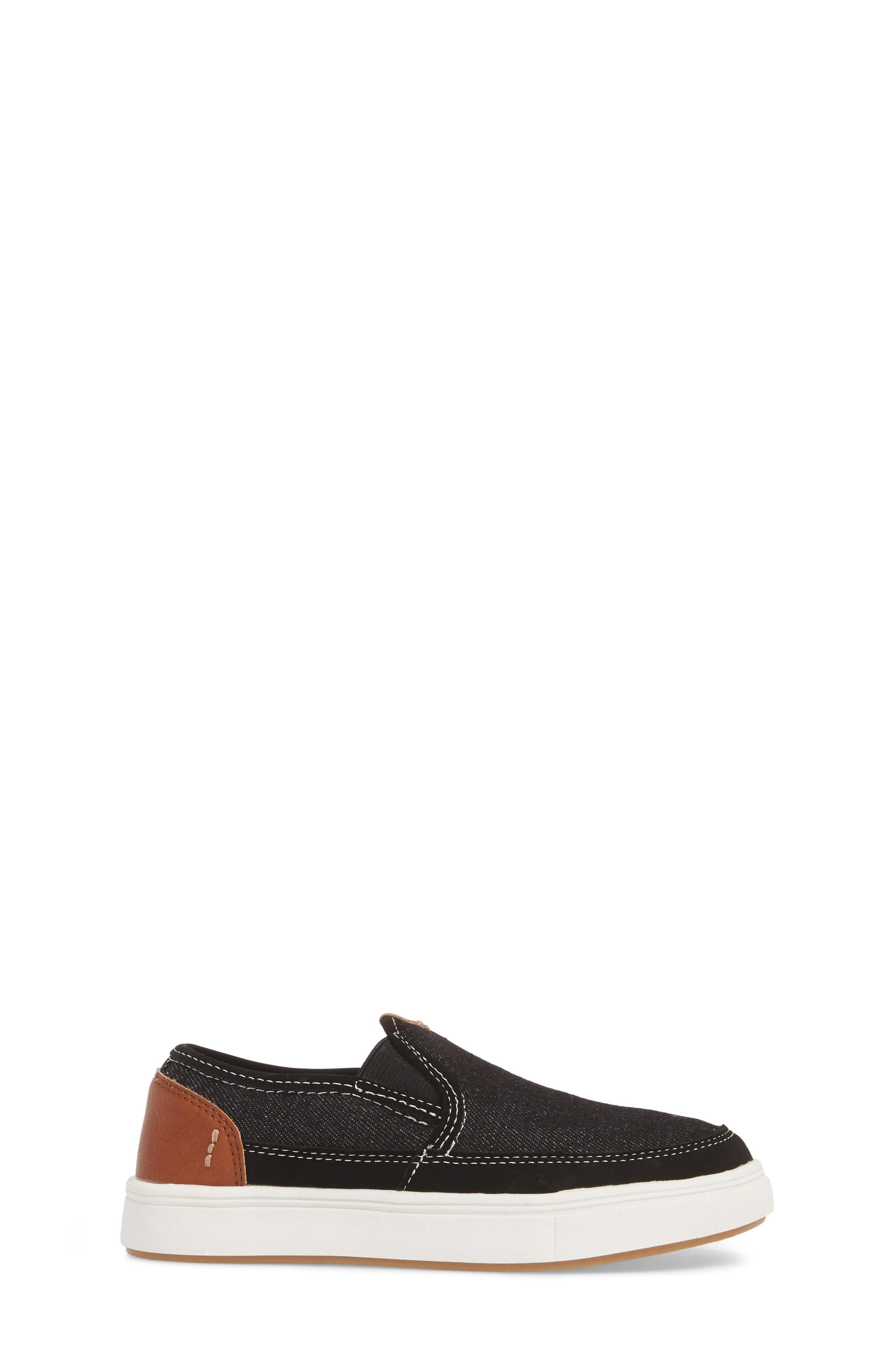 Bfoleeo Slip-On Sneaker,                             Alternate thumbnail 3, color,                             Black