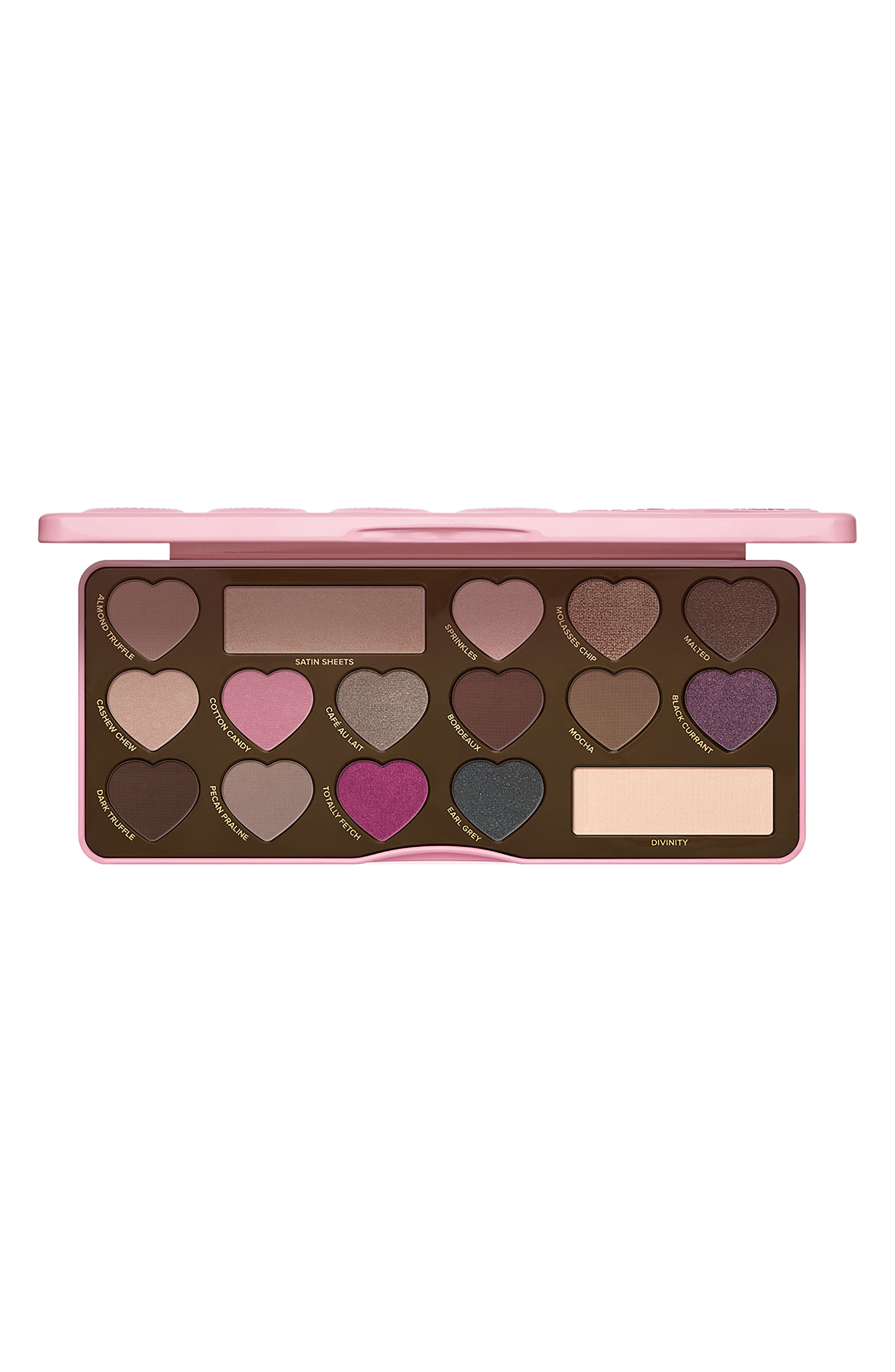 Chocolate Bon Bons Eyeshadow Palette,                             Alternate thumbnail 5, color,                             No Color