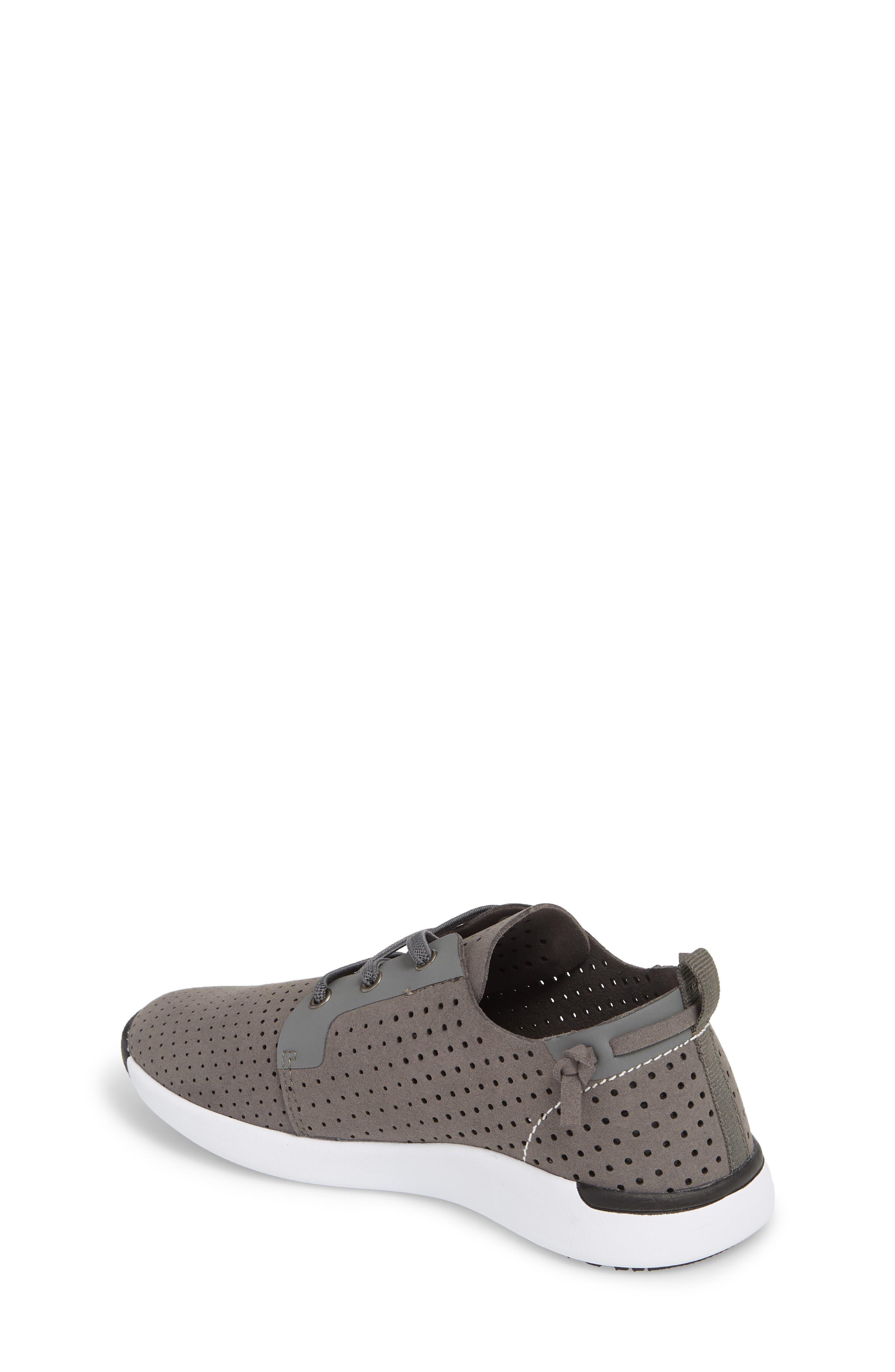 Brixxon Perforated Sneaker,                             Alternate thumbnail 2, color,                             Grey