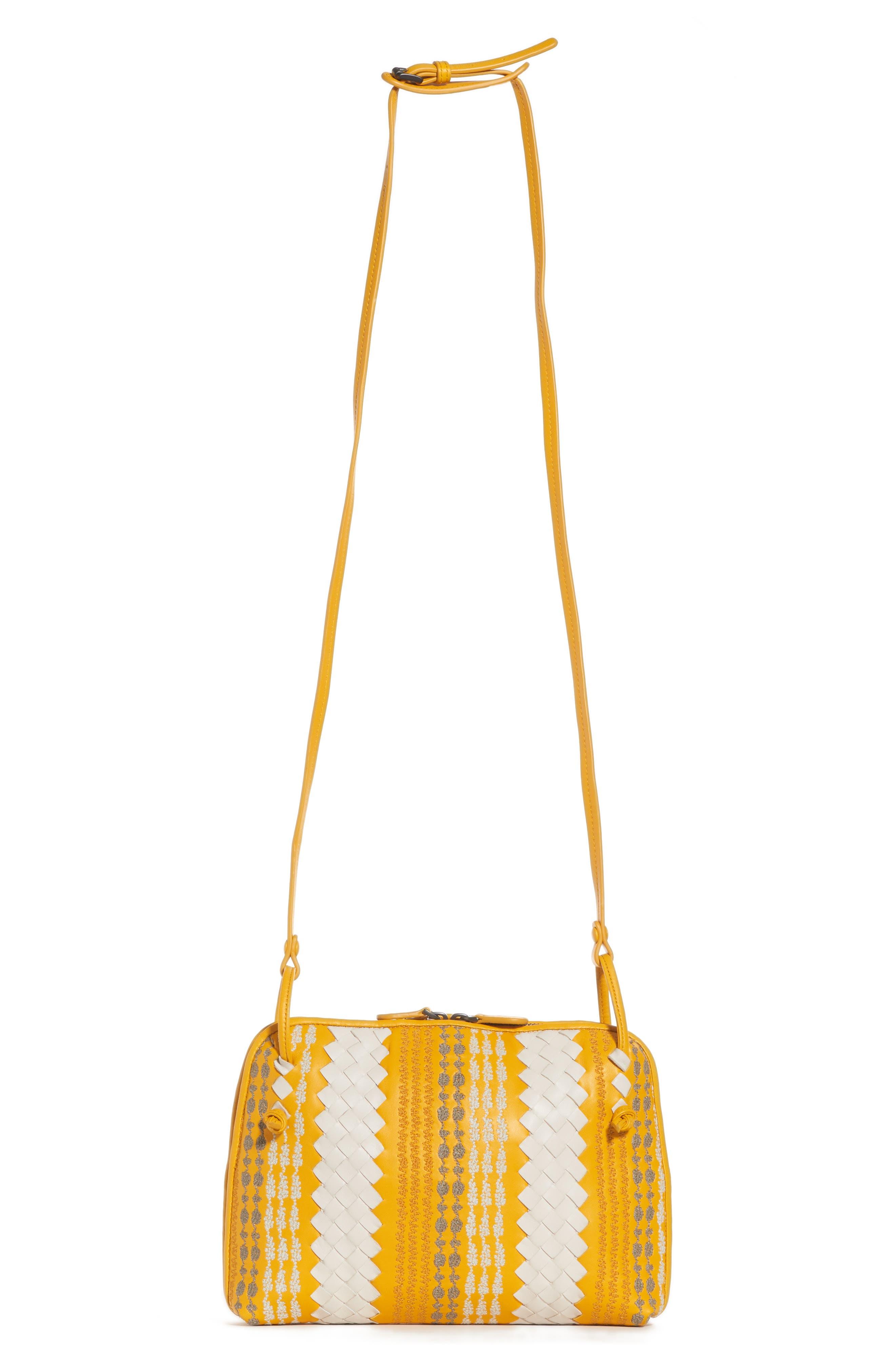 Bottega Veneta Nodini Appia Leather Crossbody Bag
