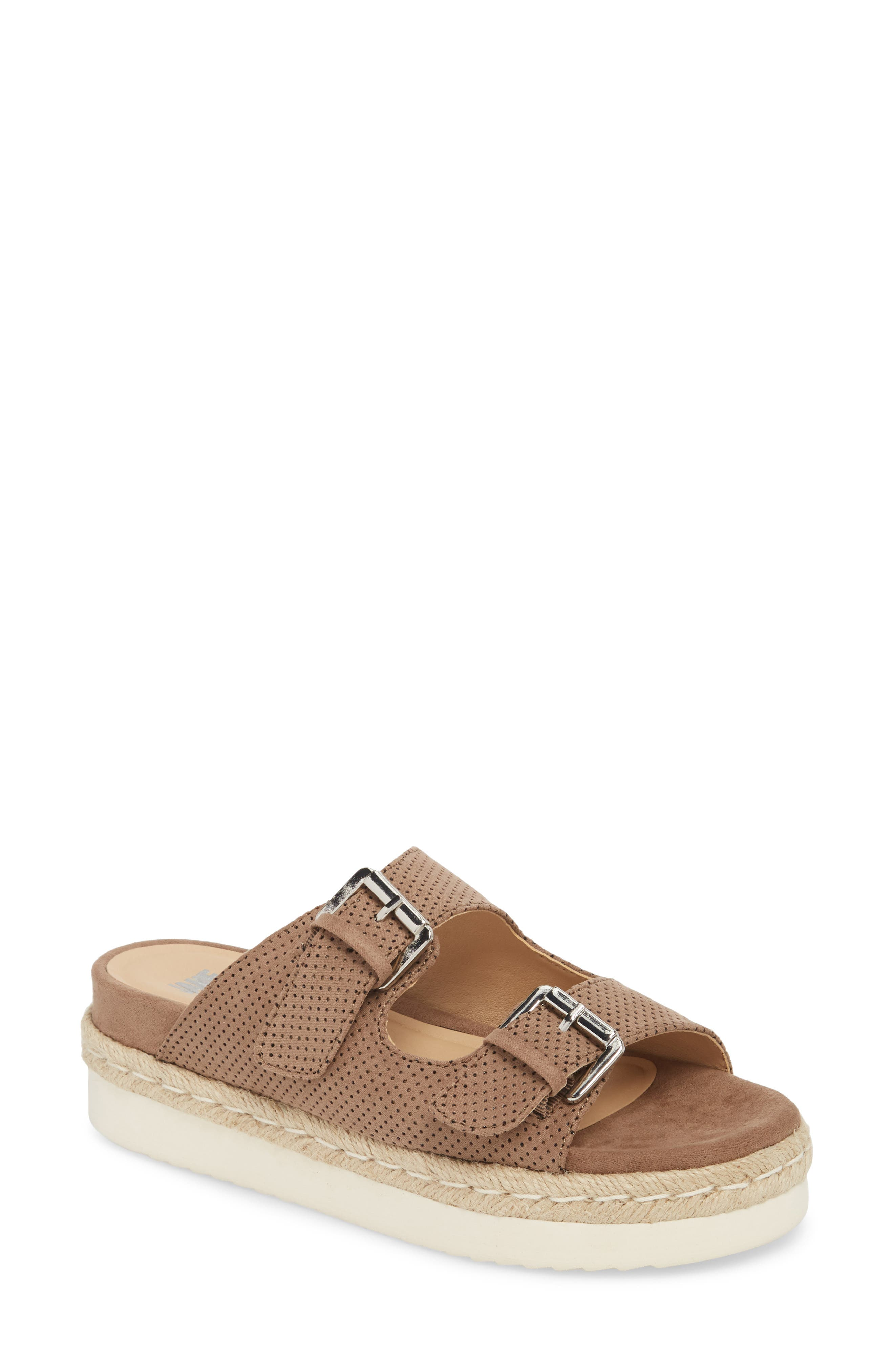 Jane and the Shoe Jojo Two-Buckle Slide Sandal (Women)