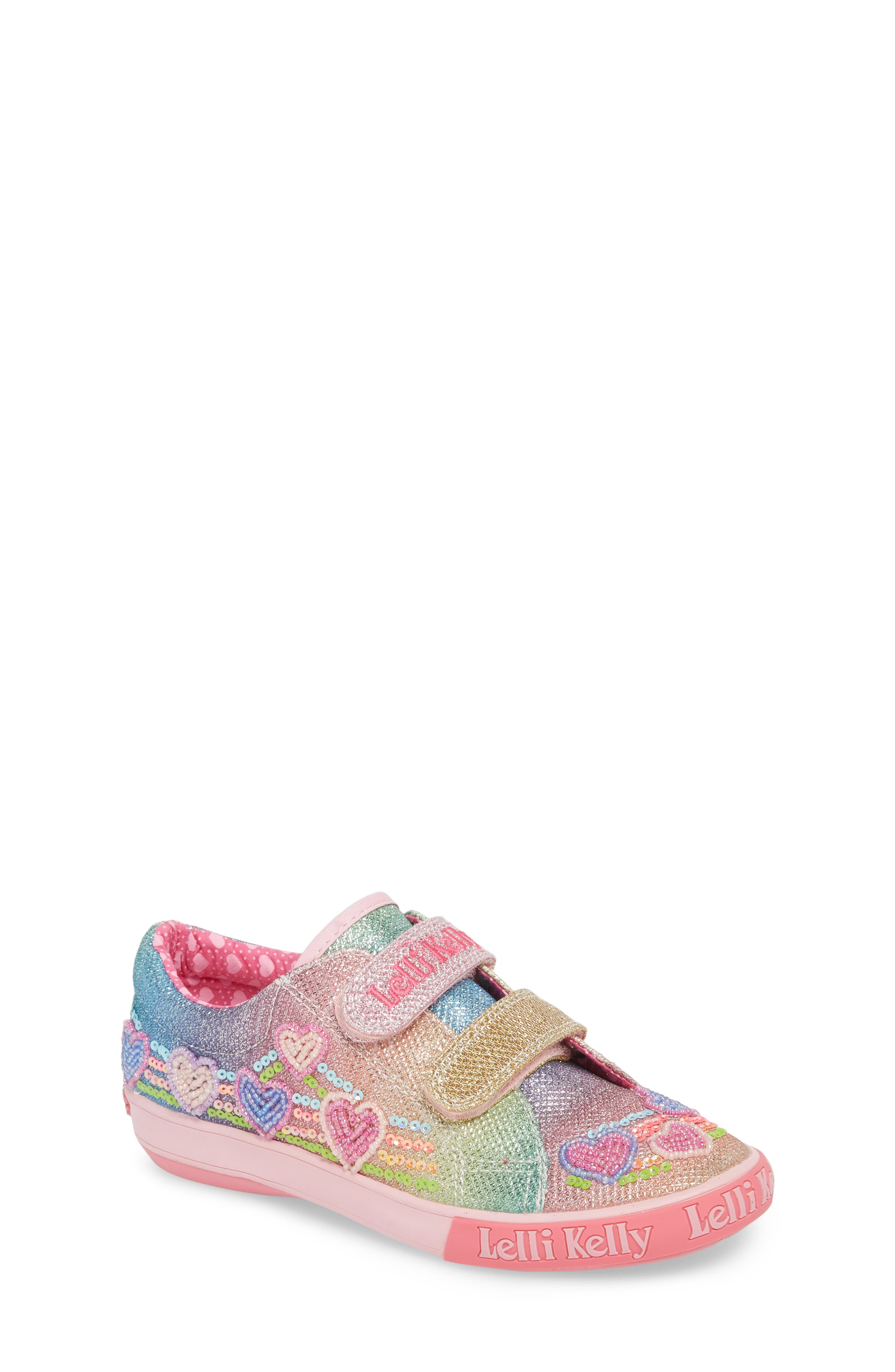 Lelli Kelly Beaded Sneaker (Toddler, Little Kid & Big Kid)