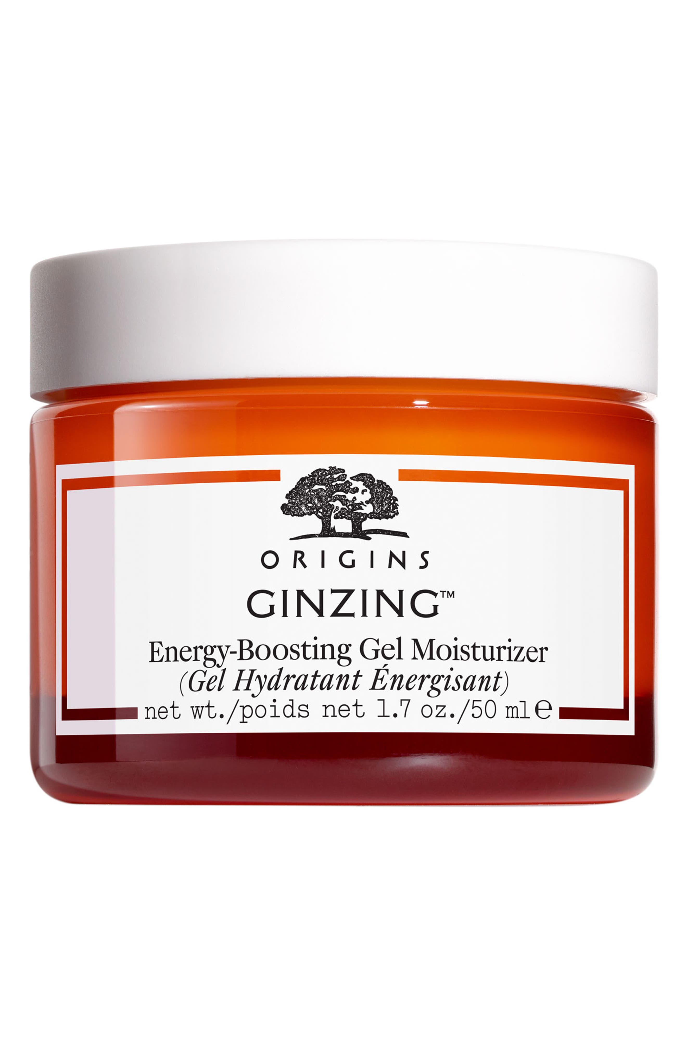 GinZing<sup>™</sup> Energy-Boosting Gel Moisturizer,                             Main thumbnail 1, color,                             No Color