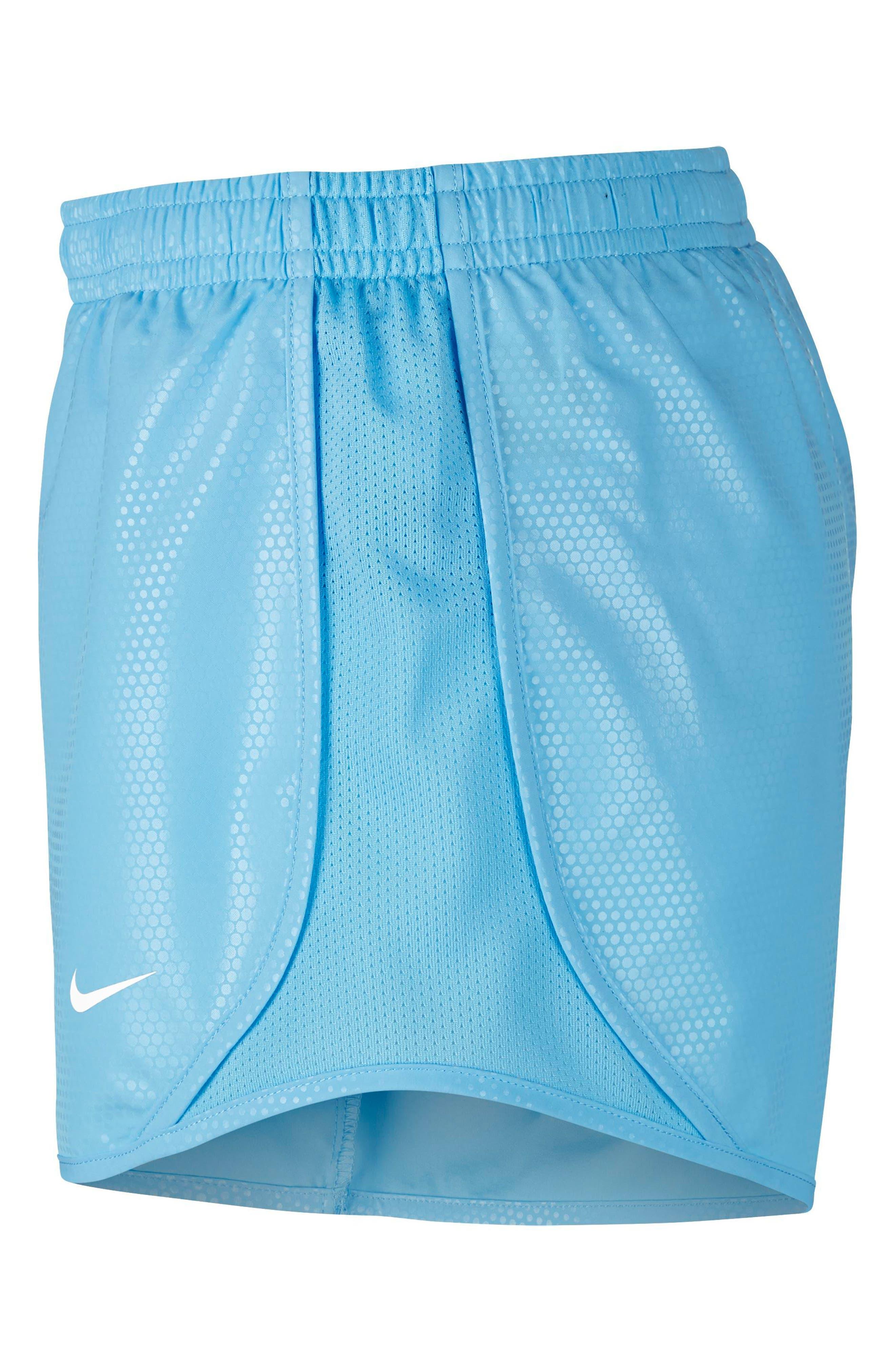 Dry Tempo Shorts,                             Alternate thumbnail 3, color,                             Blue Chill/ White