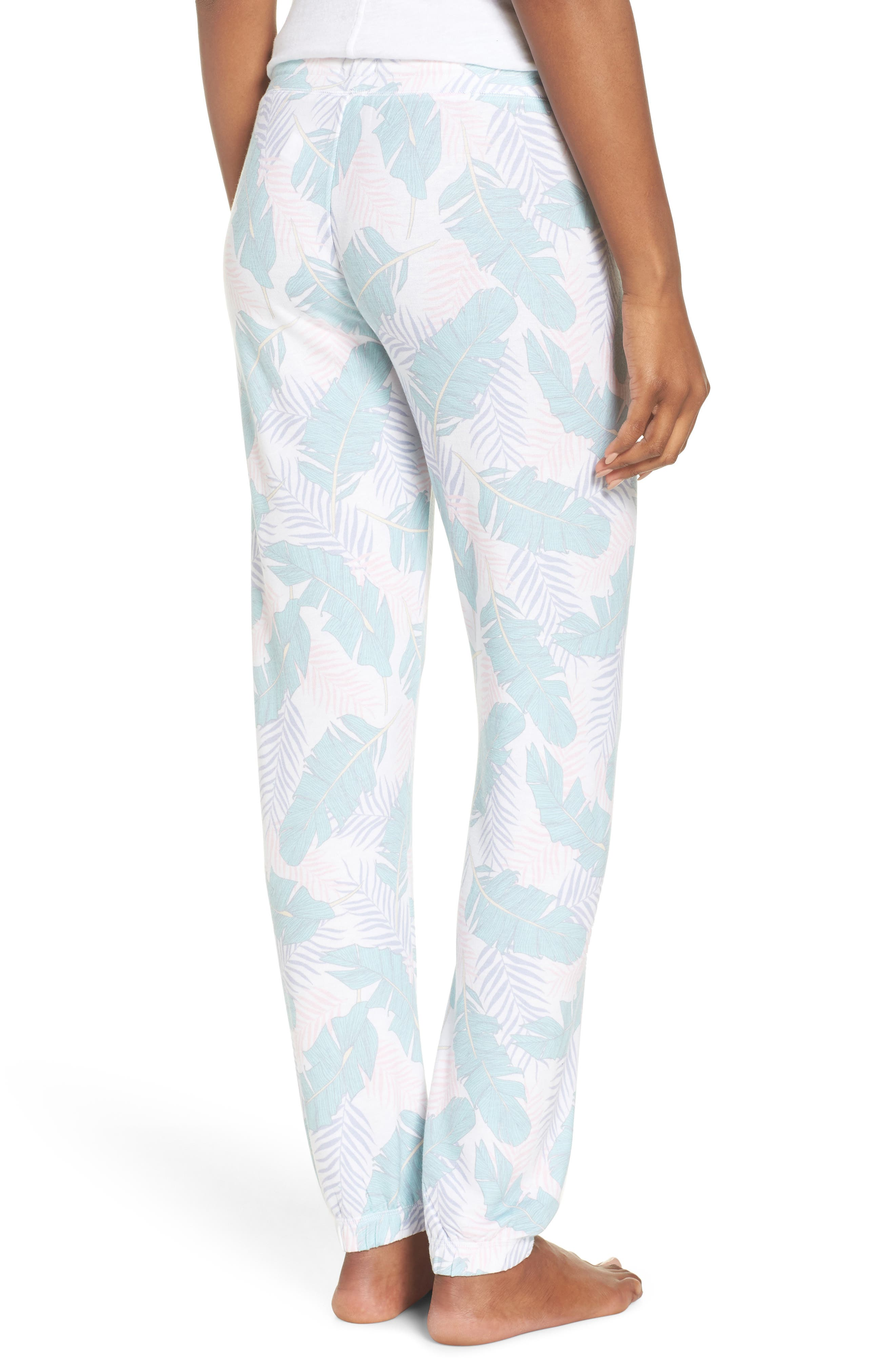 Peachy Jogger Lounge Pants,                             Alternate thumbnail 2, color,                             White