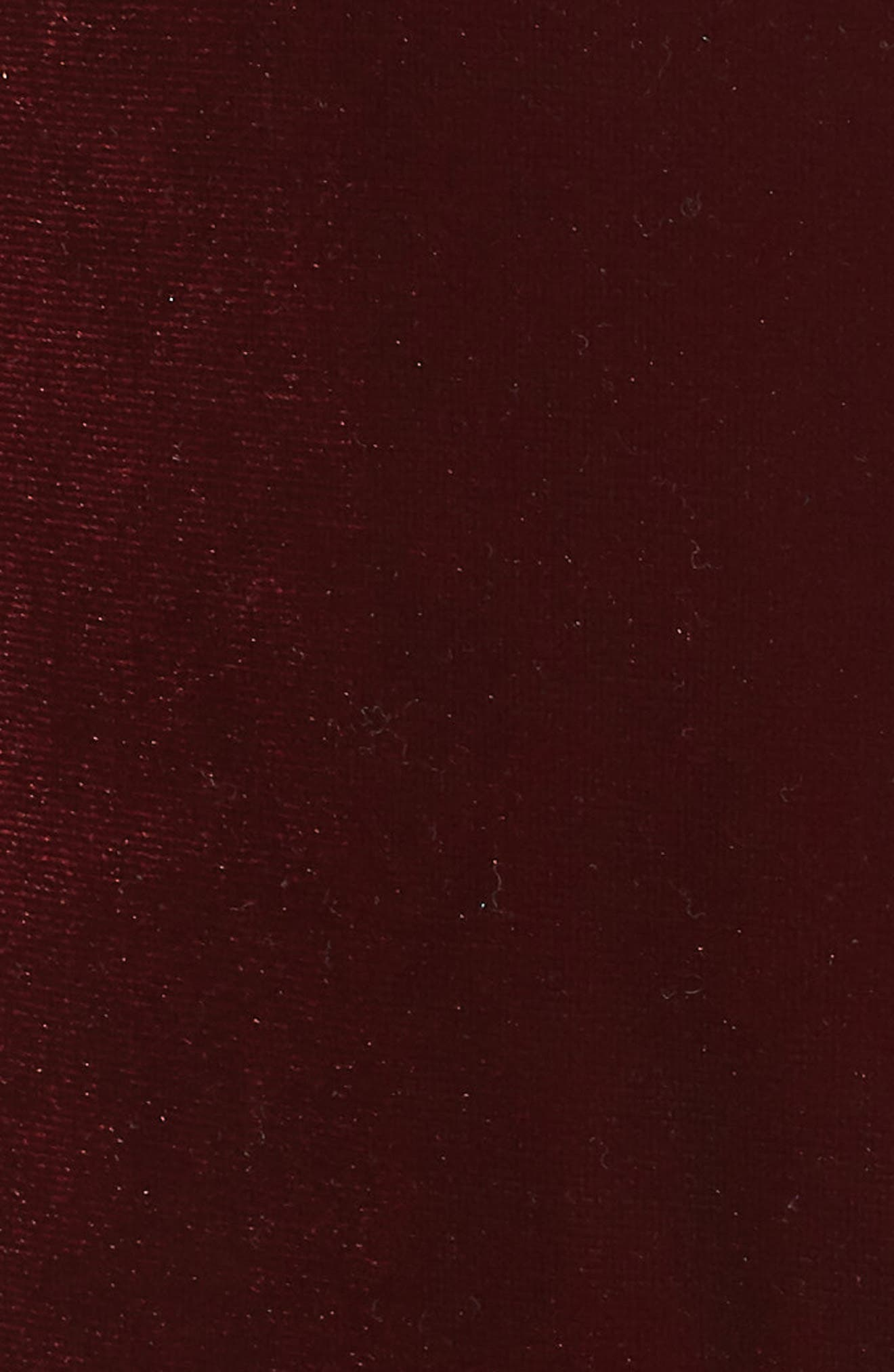 Classic Velvet Hoodie,                             Alternate thumbnail 7, color,                             Wine