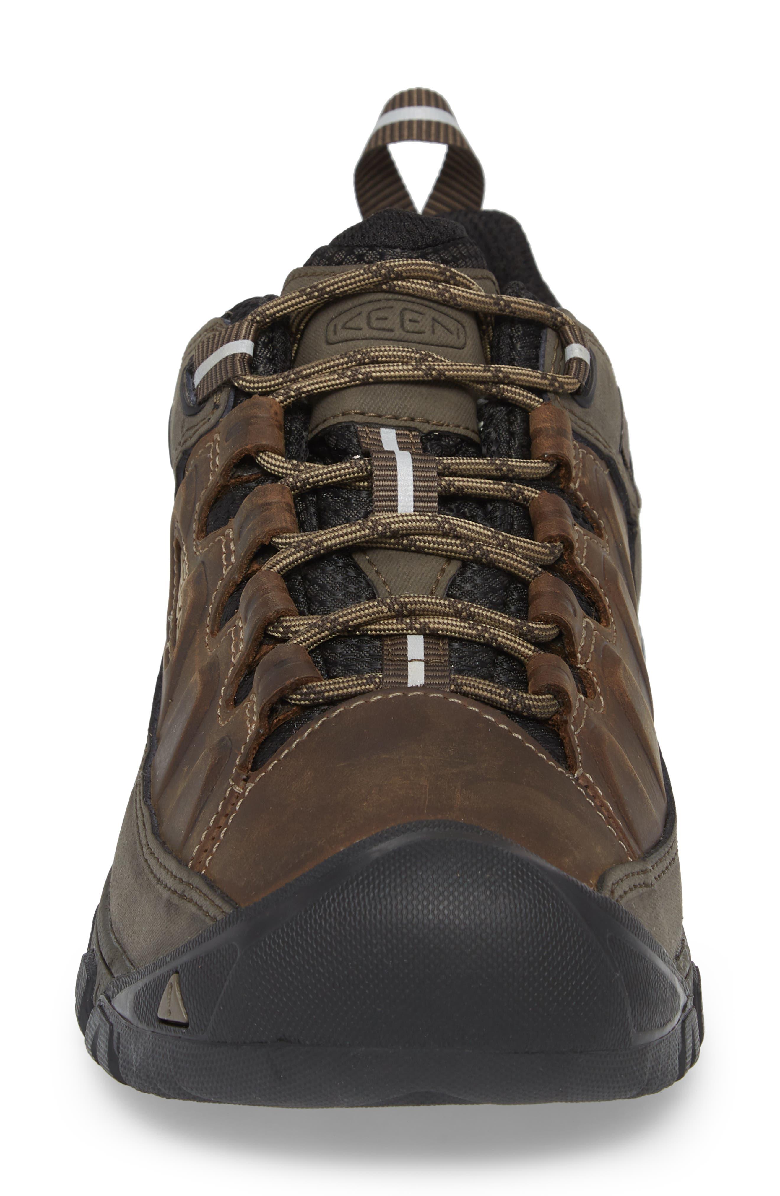 Targhee III Waterproof Hiking Shoe,                             Alternate thumbnail 4, color,                             Bungee Cord/Black