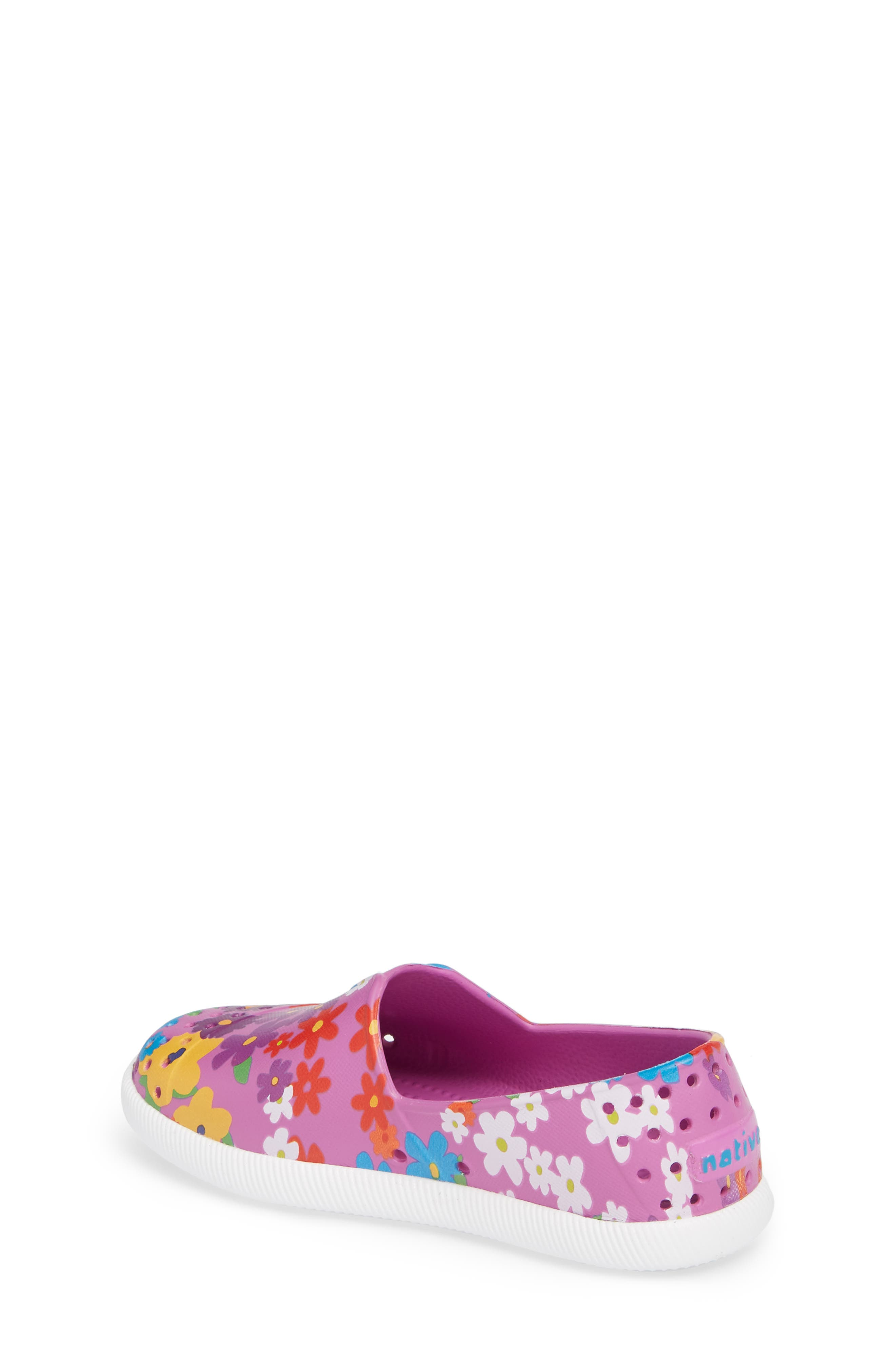 Verona Perforated Slip-On,                             Alternate thumbnail 2, color,                             Peace Purple/ White/ Daisy