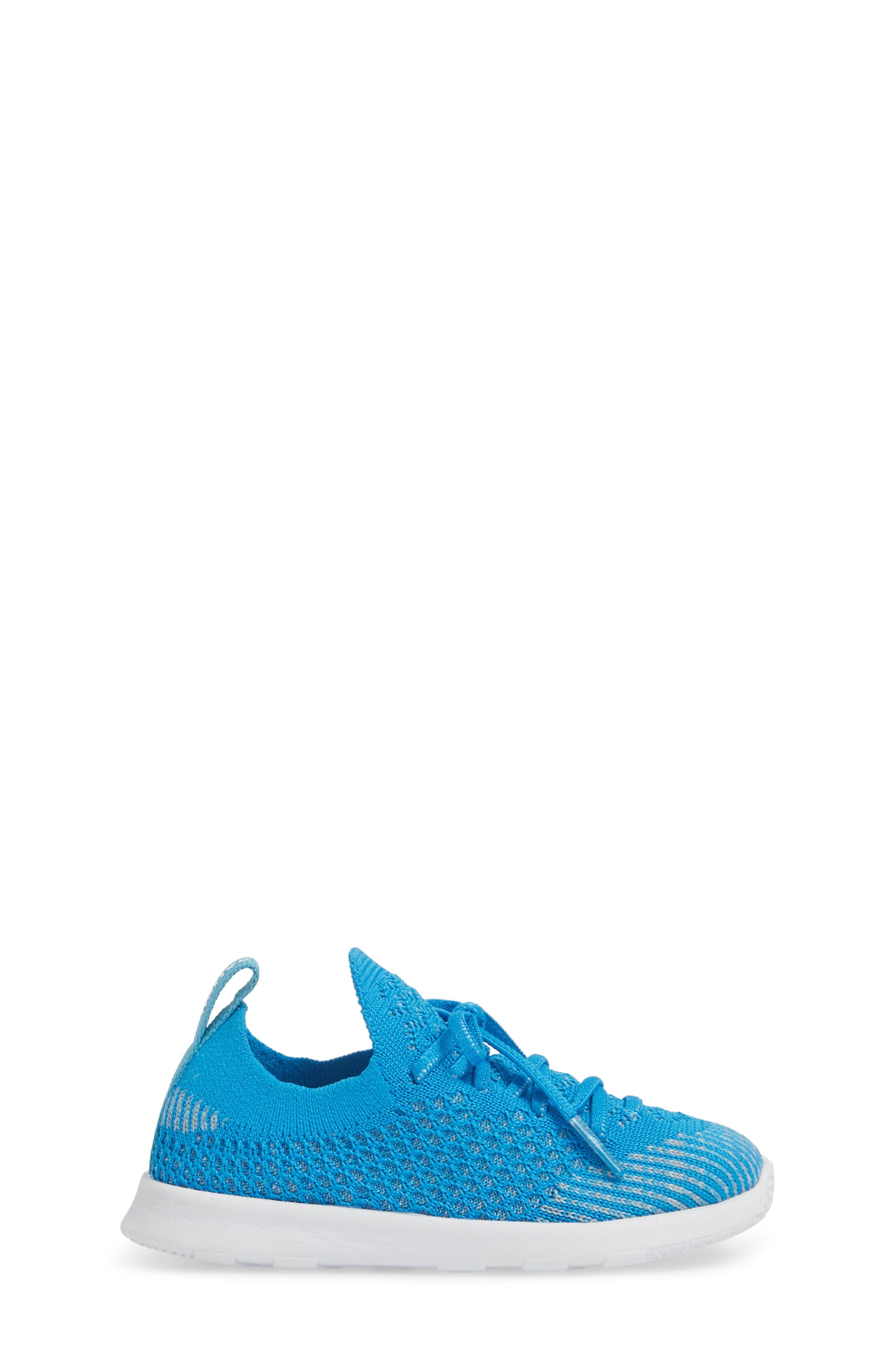 AP Mercury LiteKnit Sneaker,                             Alternate thumbnail 3, color,                             Wave Blue/ Shell White