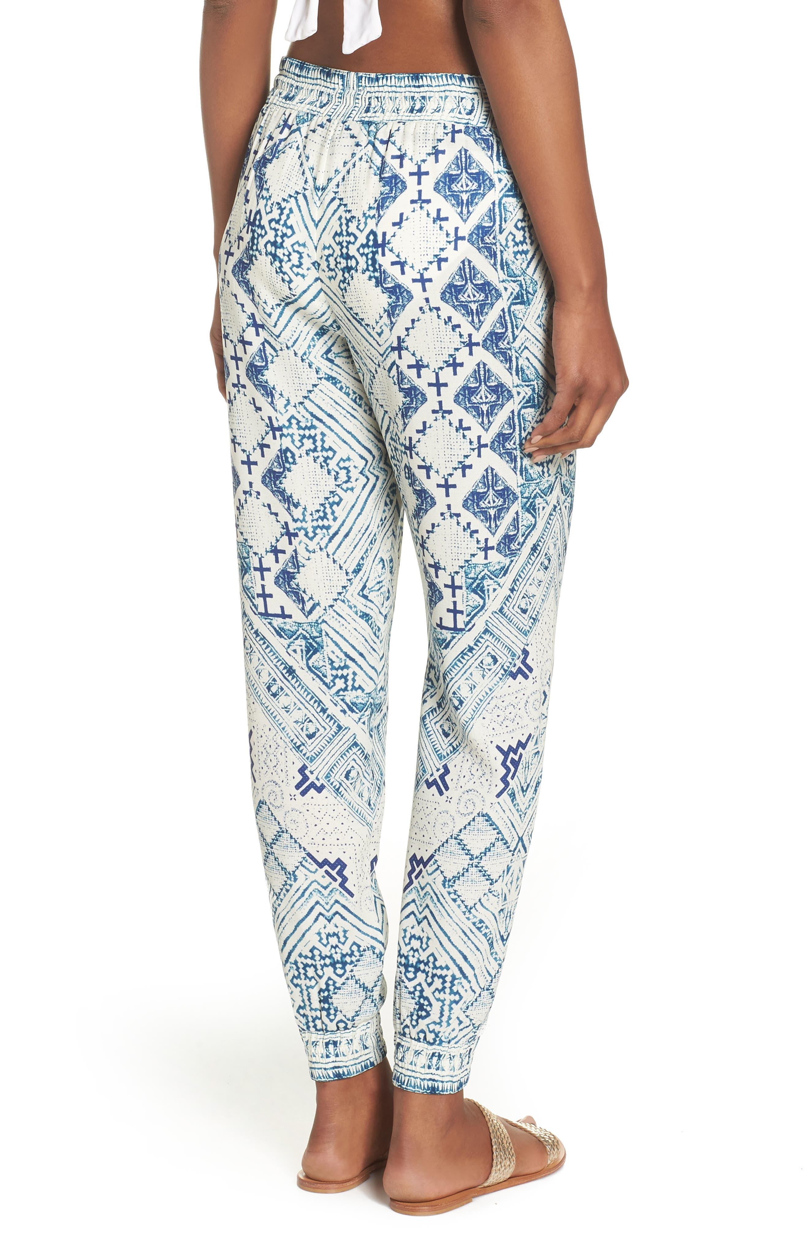 Hemant & Nandita Tasseled Cover-Up Pants,                             Alternate thumbnail 2, color,                             Lucian