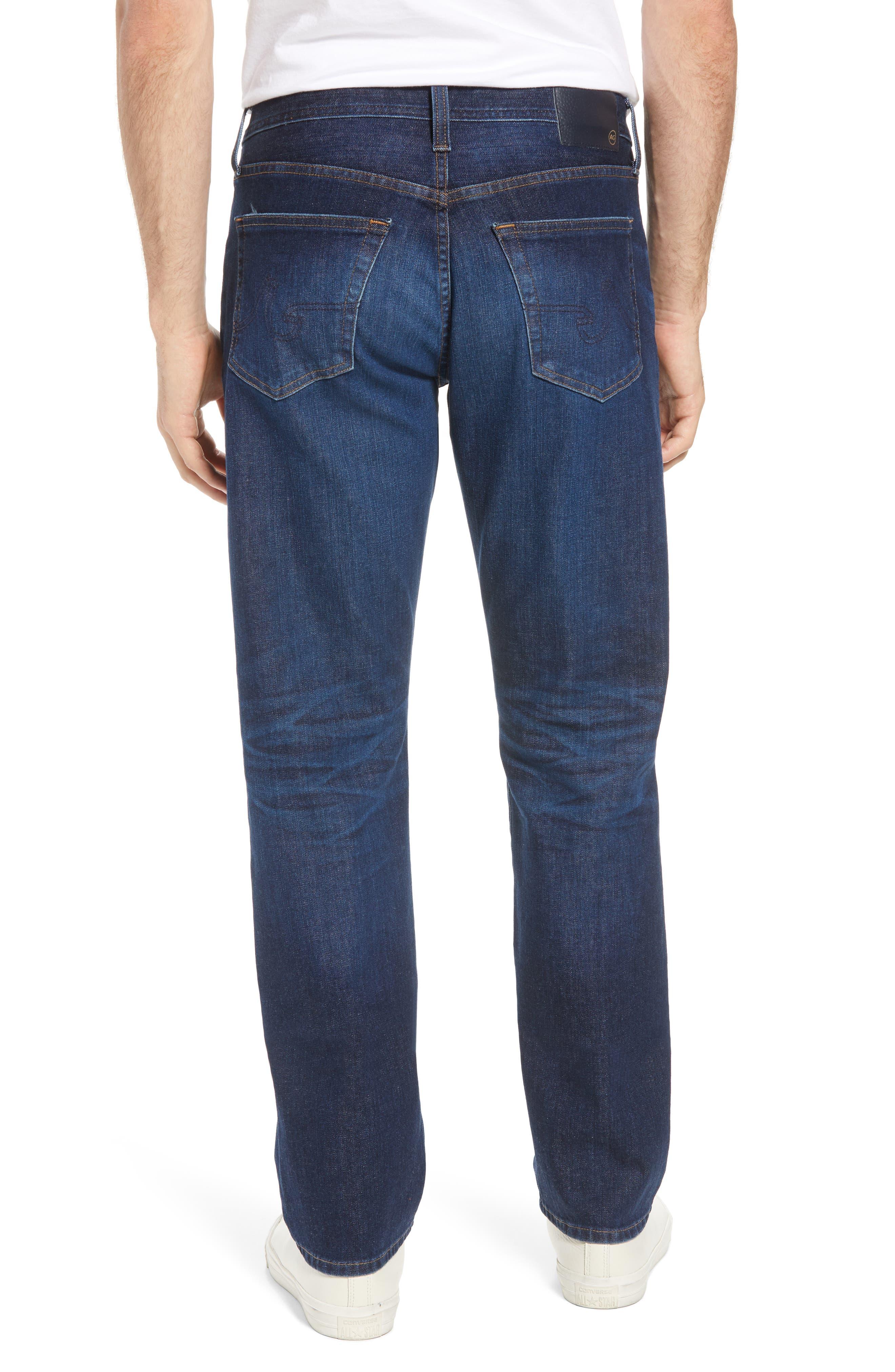 Graduate Slim Straight Fit Jeans,                             Alternate thumbnail 2, color,                             5 Years Lost Coast