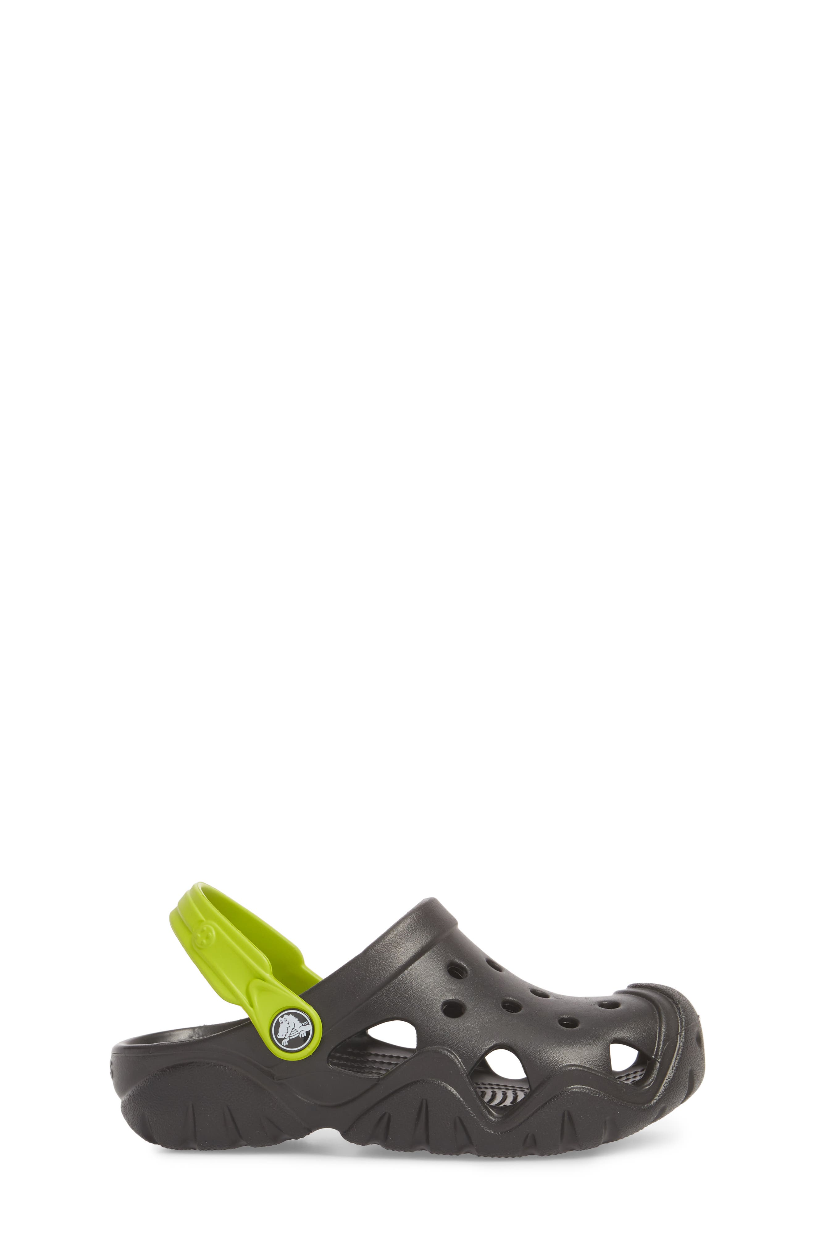 Swiftwater Clogs,                             Alternate thumbnail 3, color,                             Black