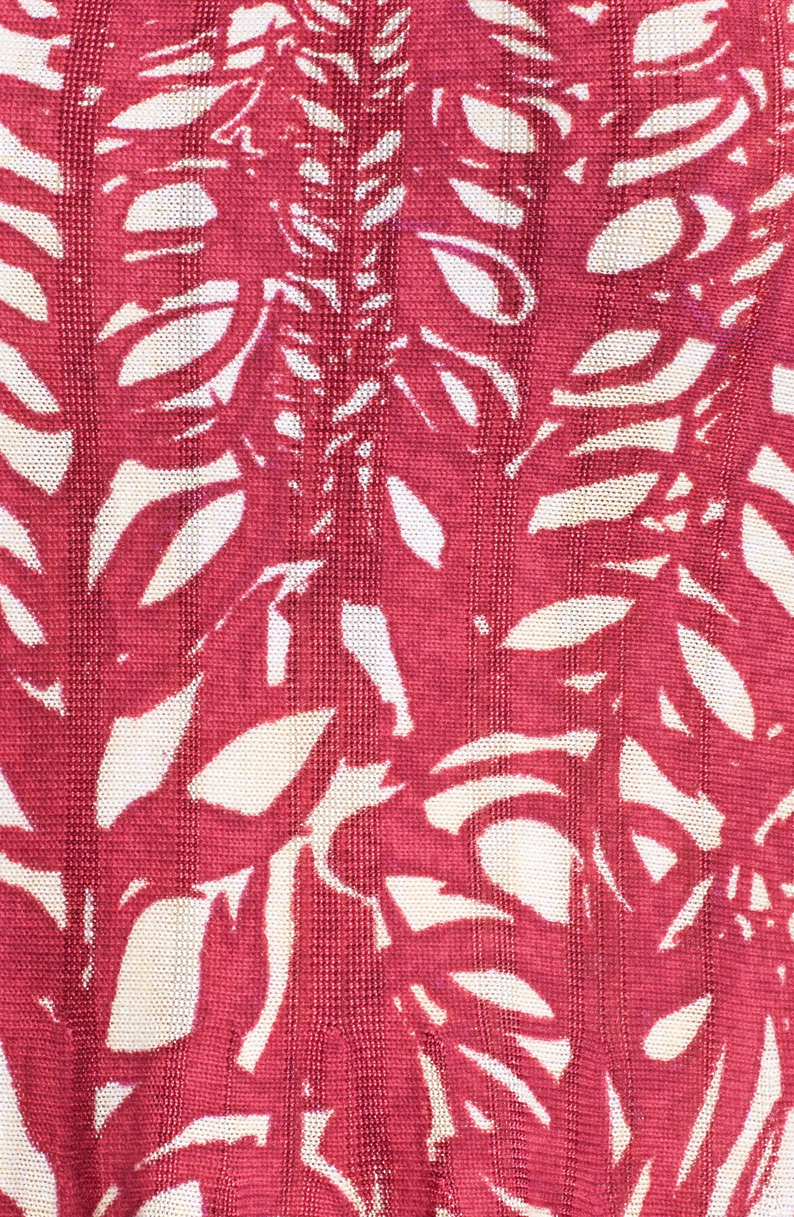 Tango Twirl Fit & Flare Knit Dress,                             Alternate thumbnail 6, color,                             Multi