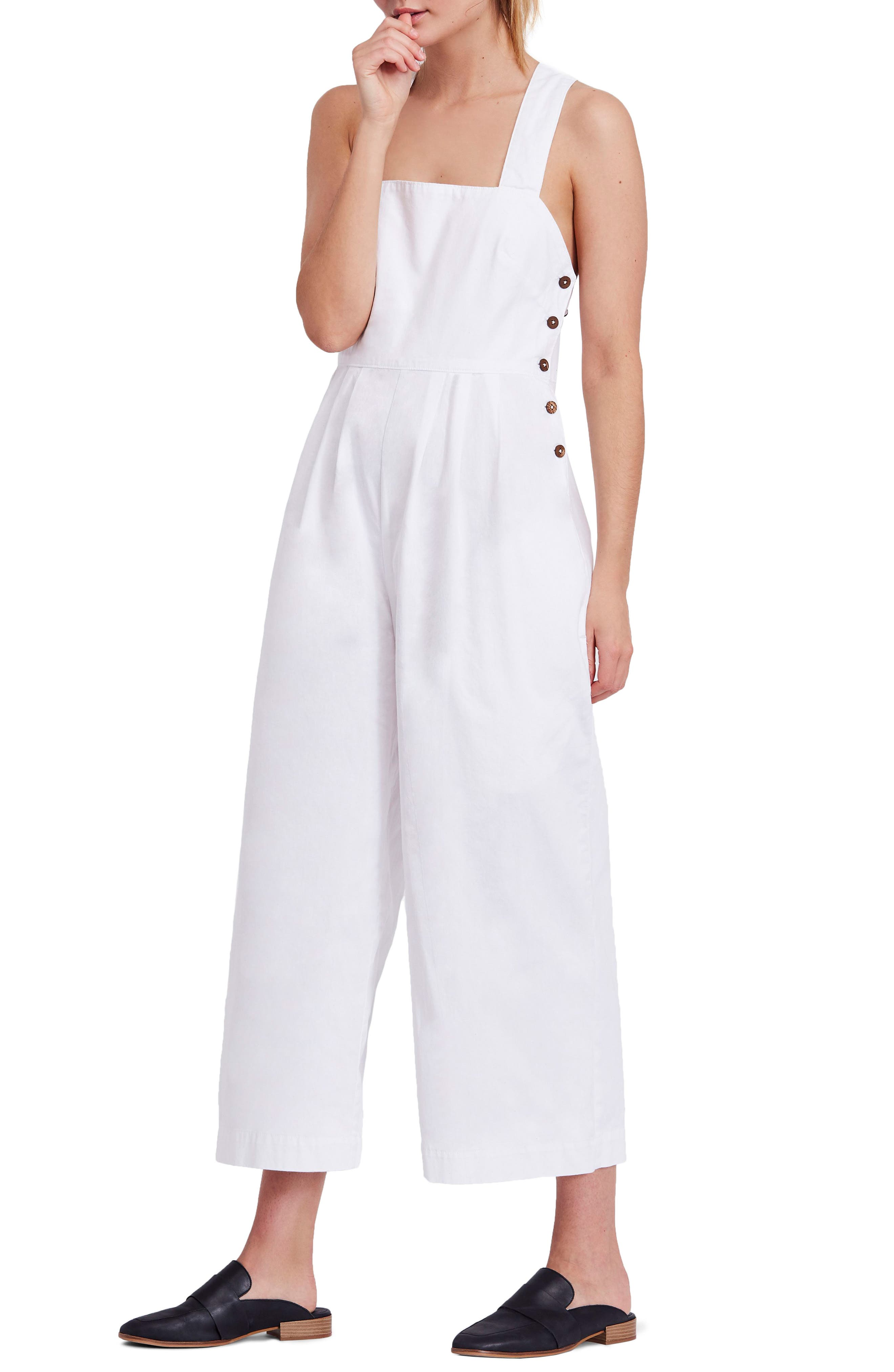 Fara Jumpsuit,                         Main,                         color, White