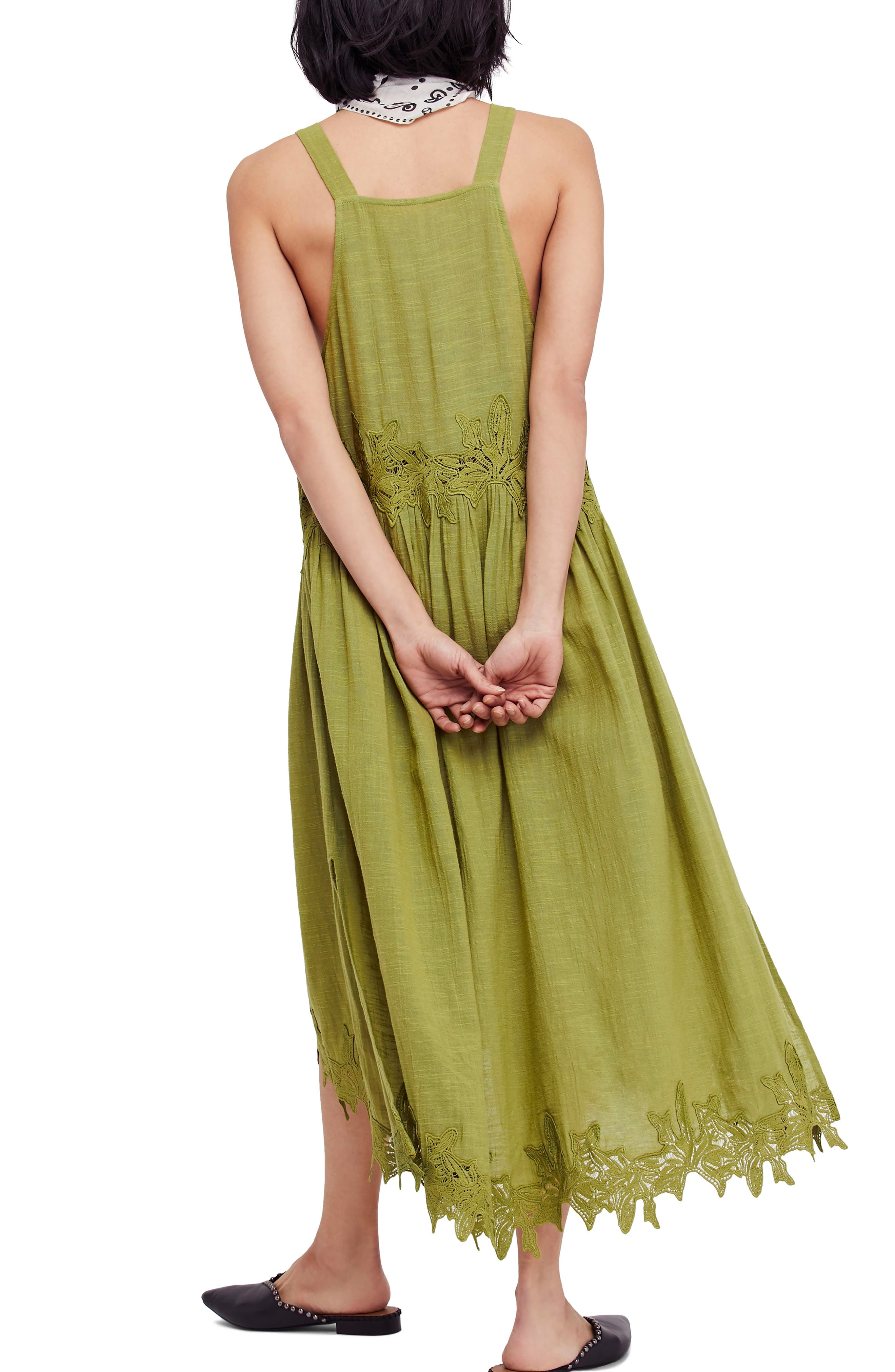 In Your Arms Appliqué Maxi Dress,                             Alternate thumbnail 2, color,                             Green