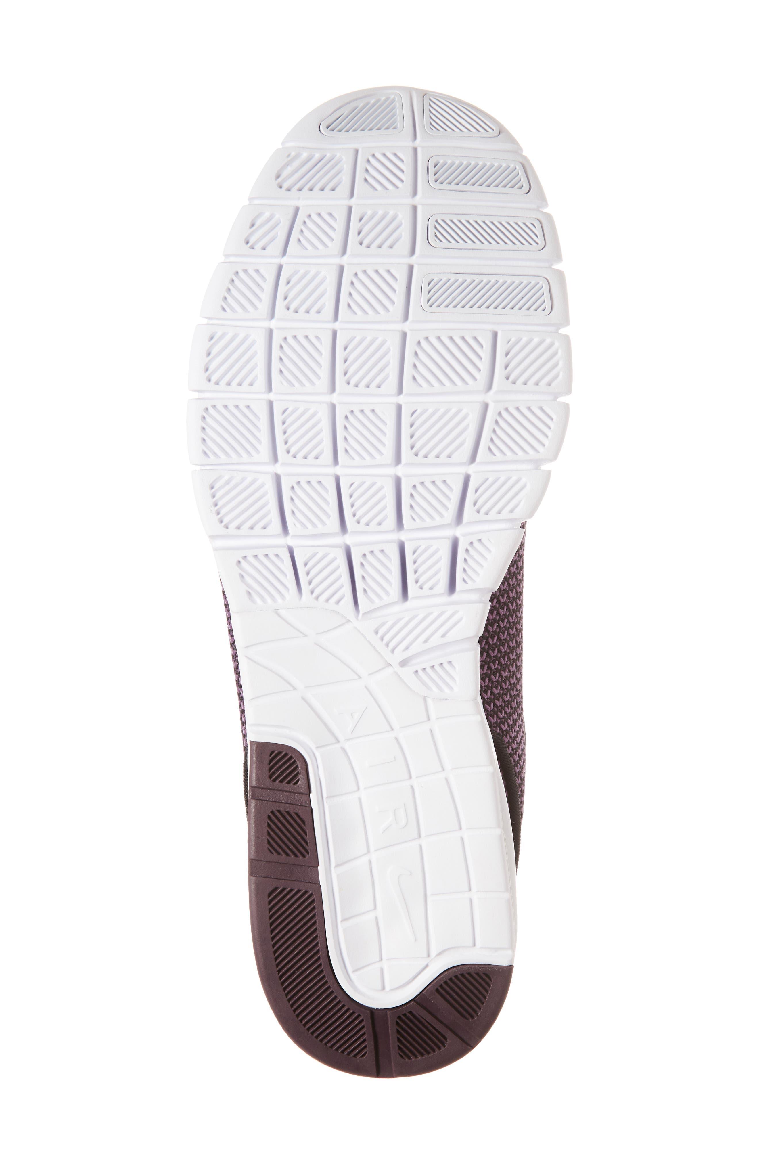 'Stefan Janoski - Max SB' Skate Shoe,                             Alternate thumbnail 6, color,                             Black/ Pro Purple/ White