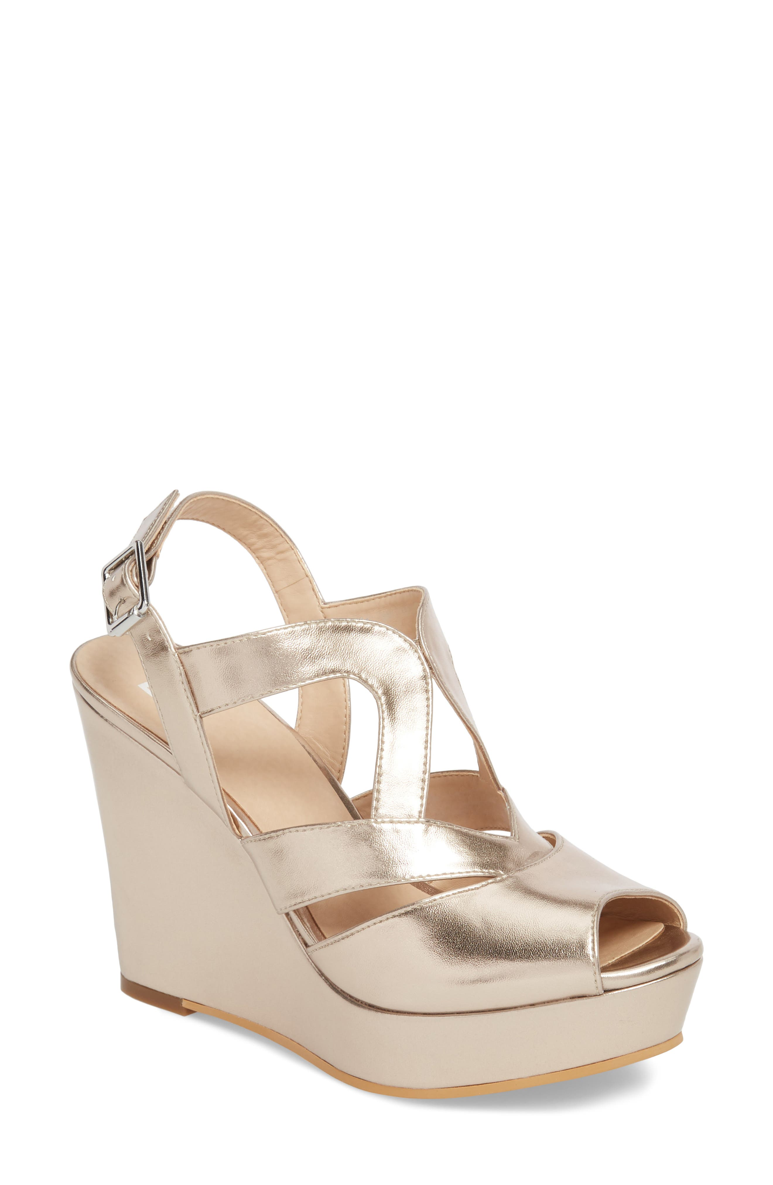 BP. Sunny Platform Wedge Sandal (Women)