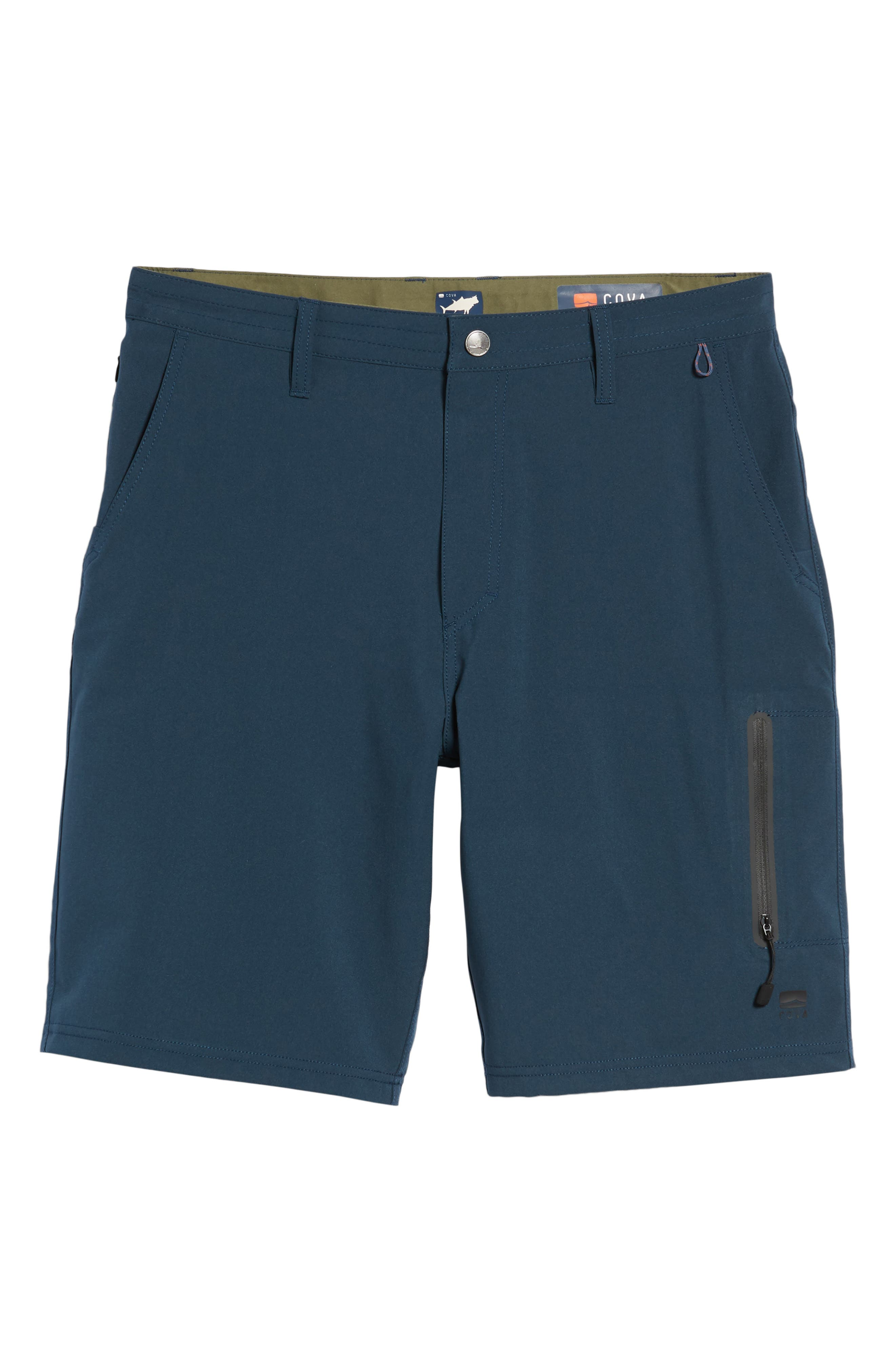 Pipeline Hybrid Shorts,                             Alternate thumbnail 6, color,                             Lake Blue