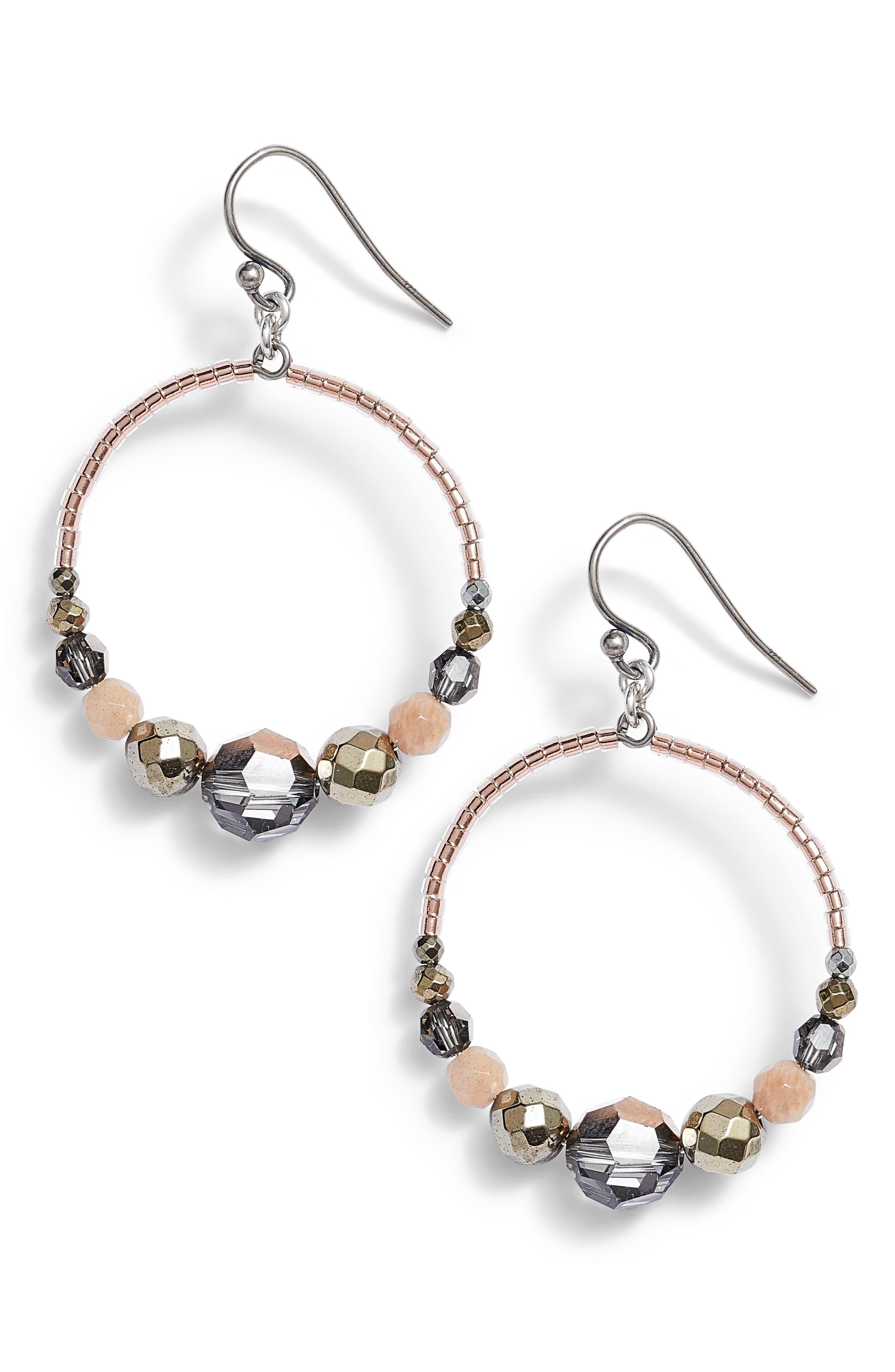 Chan Luu Graduated Hoop Earrings