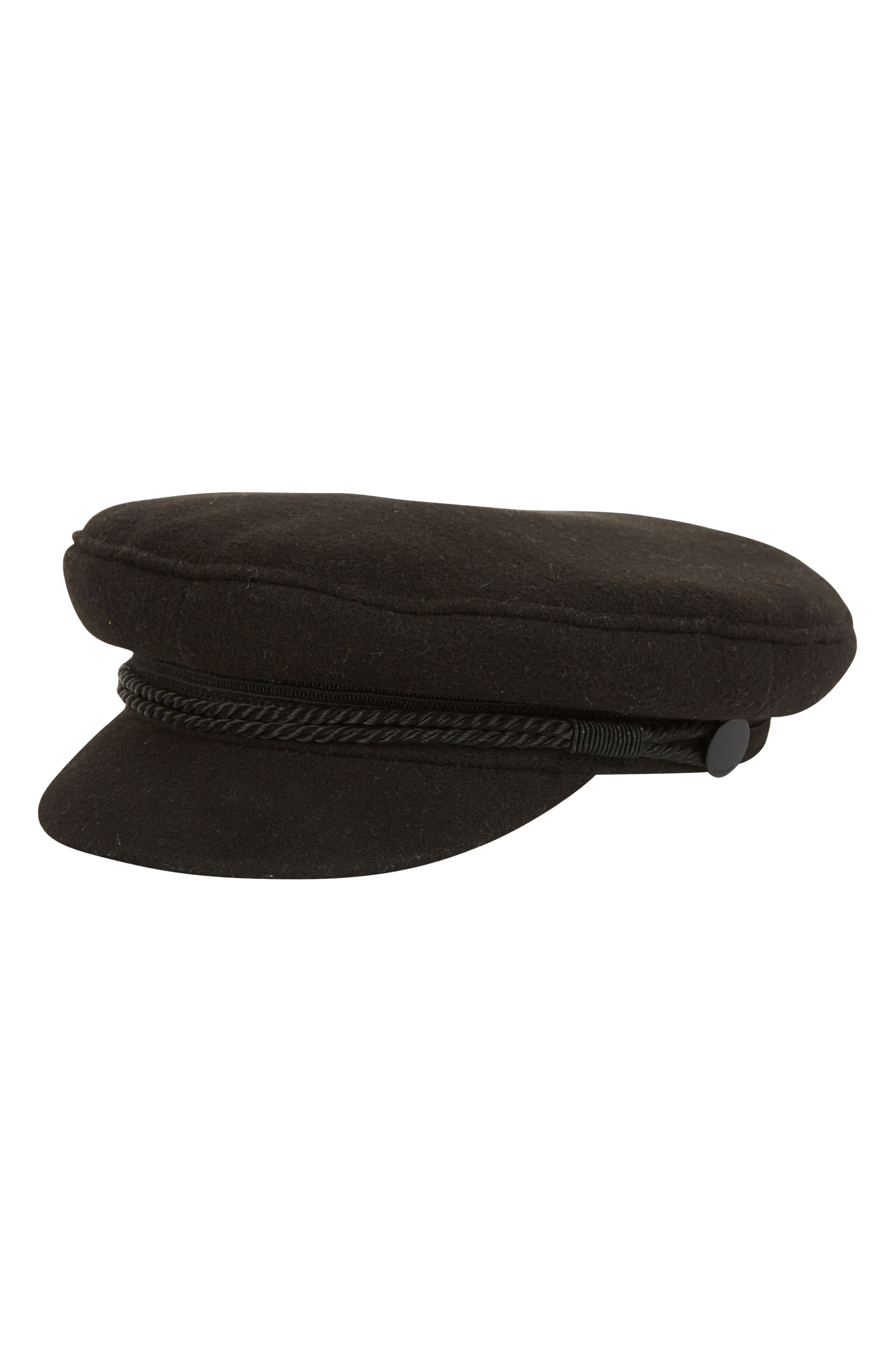 Jack Baker Boy Hat,                             Alternate thumbnail 2, color,                             Black