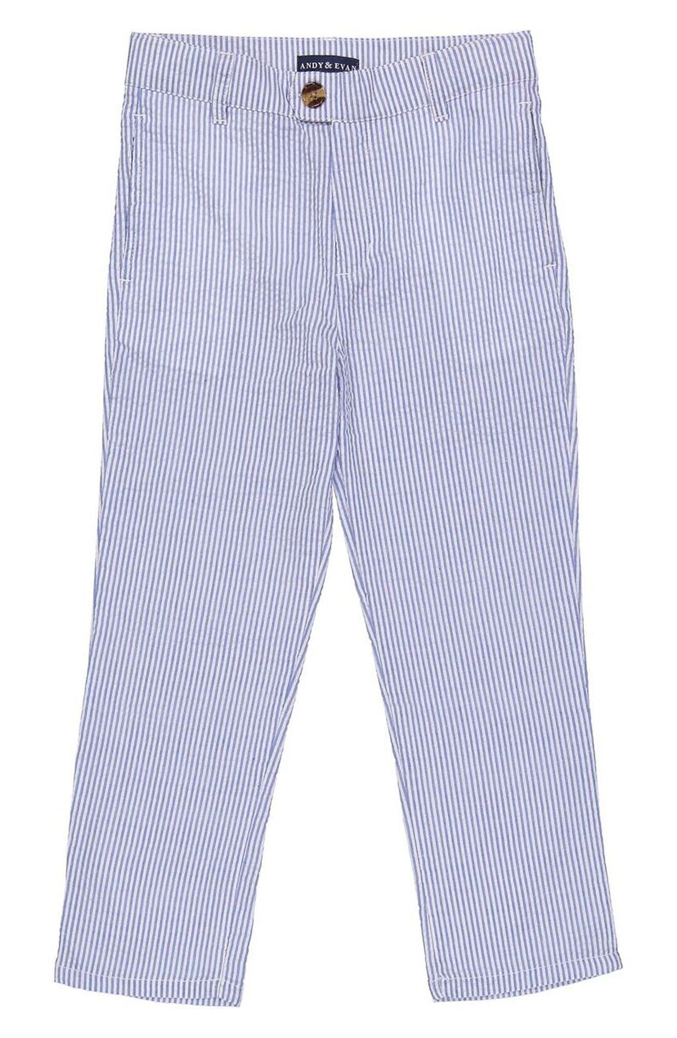 Andy & Evan Seersucker Suit Pants (Toddler Boys & Little Boys)