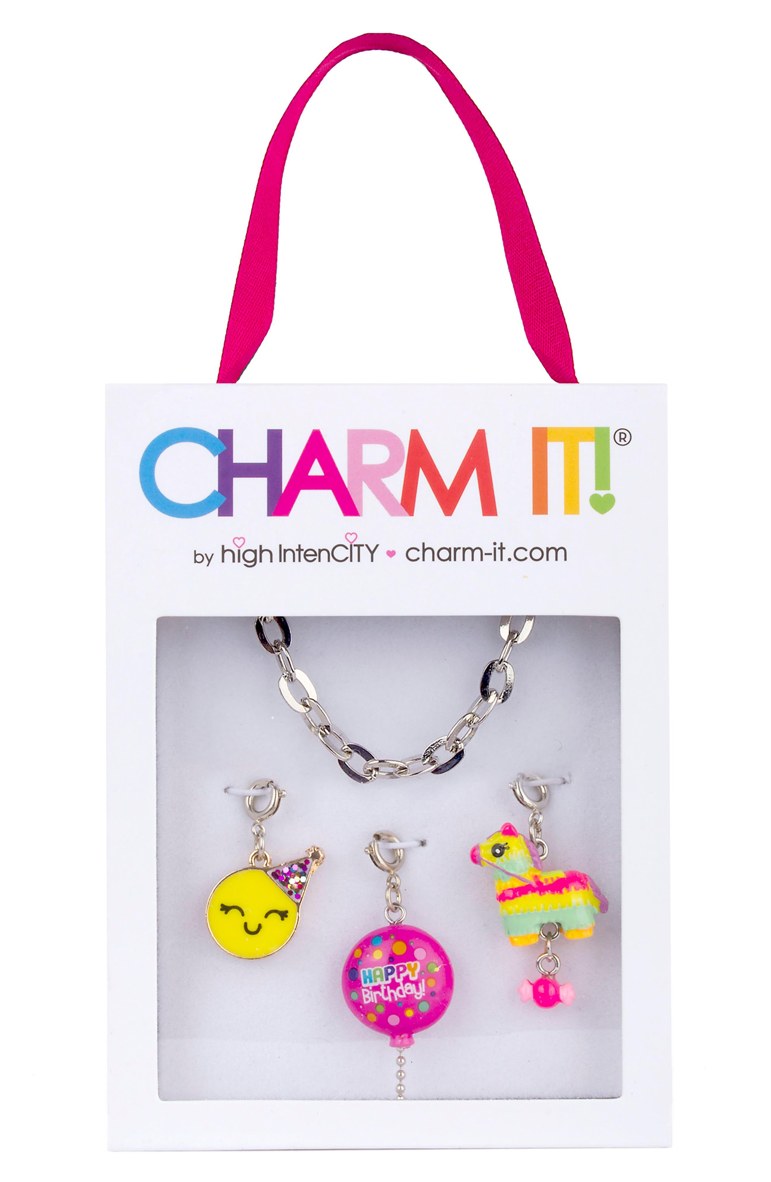 CHARM IT!<sup>®</sup> Birthday Charm Bracelet Gift Set,                             Alternate thumbnail 2, color,                             Multi