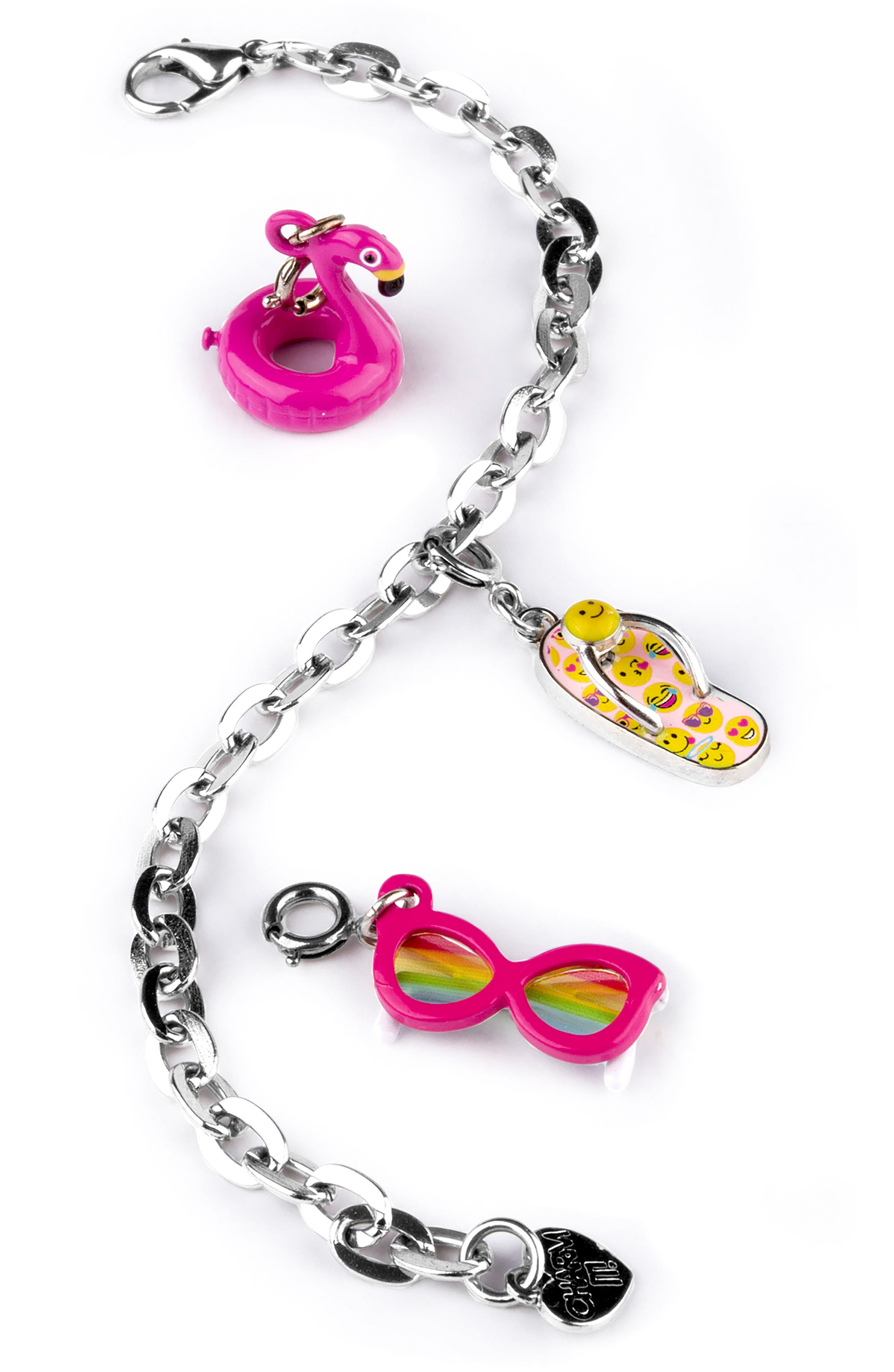 High IntenCity CHARM IT!® Fun in the Sun Charm Bracelet Gift Set (Girls)