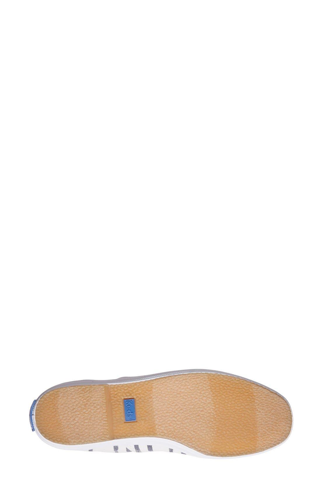 Alternate Image 2  - Keds® 'Champion - Washed Beach Stripe' Sneaker (Women)